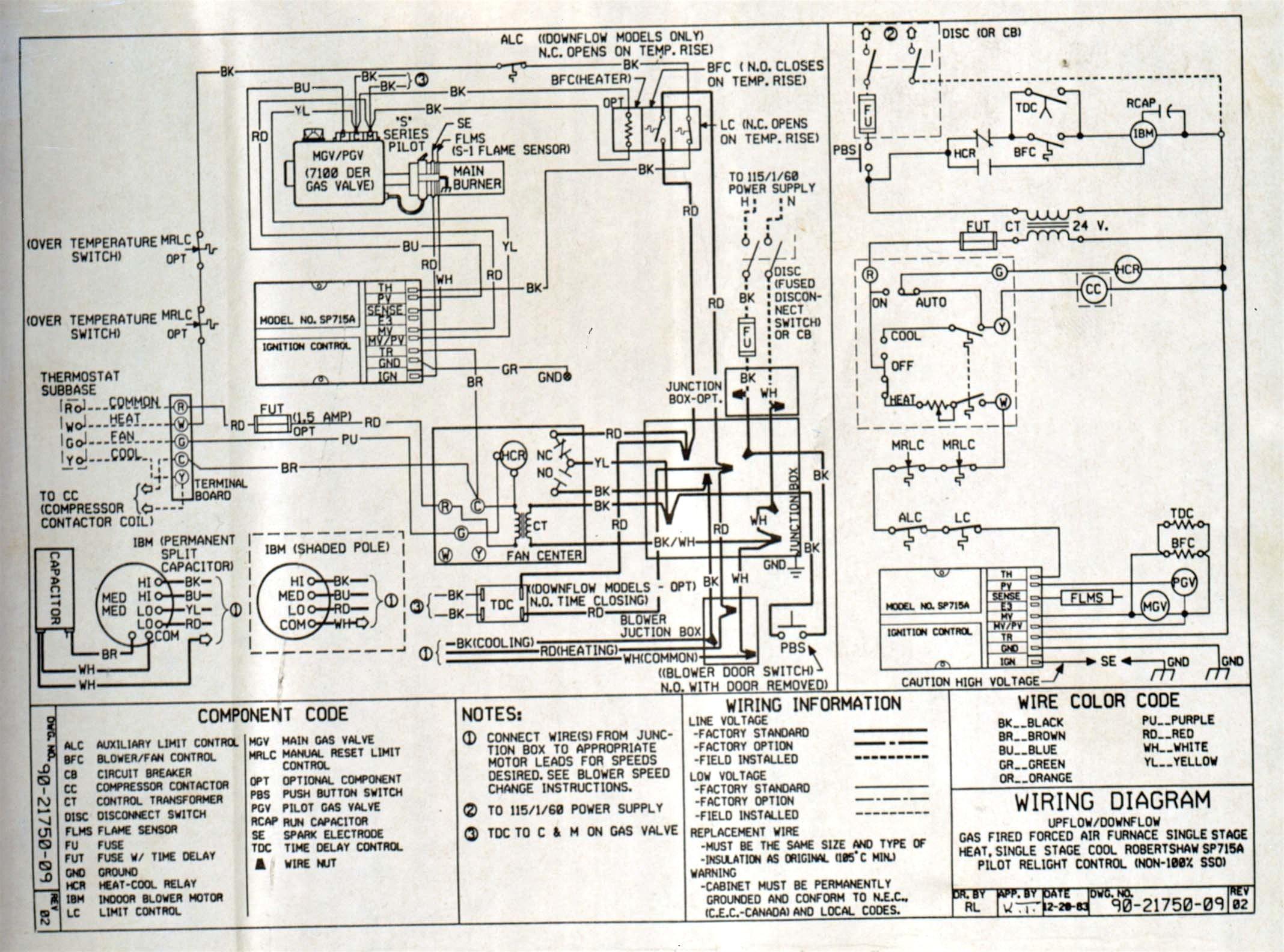 Furnace Blower Motor Wiring Diagram Wiring Diagram Hvac Blower Inspirationa Electric Furnace Fan Relay Of Furnace Blower Motor Wiring Diagram
