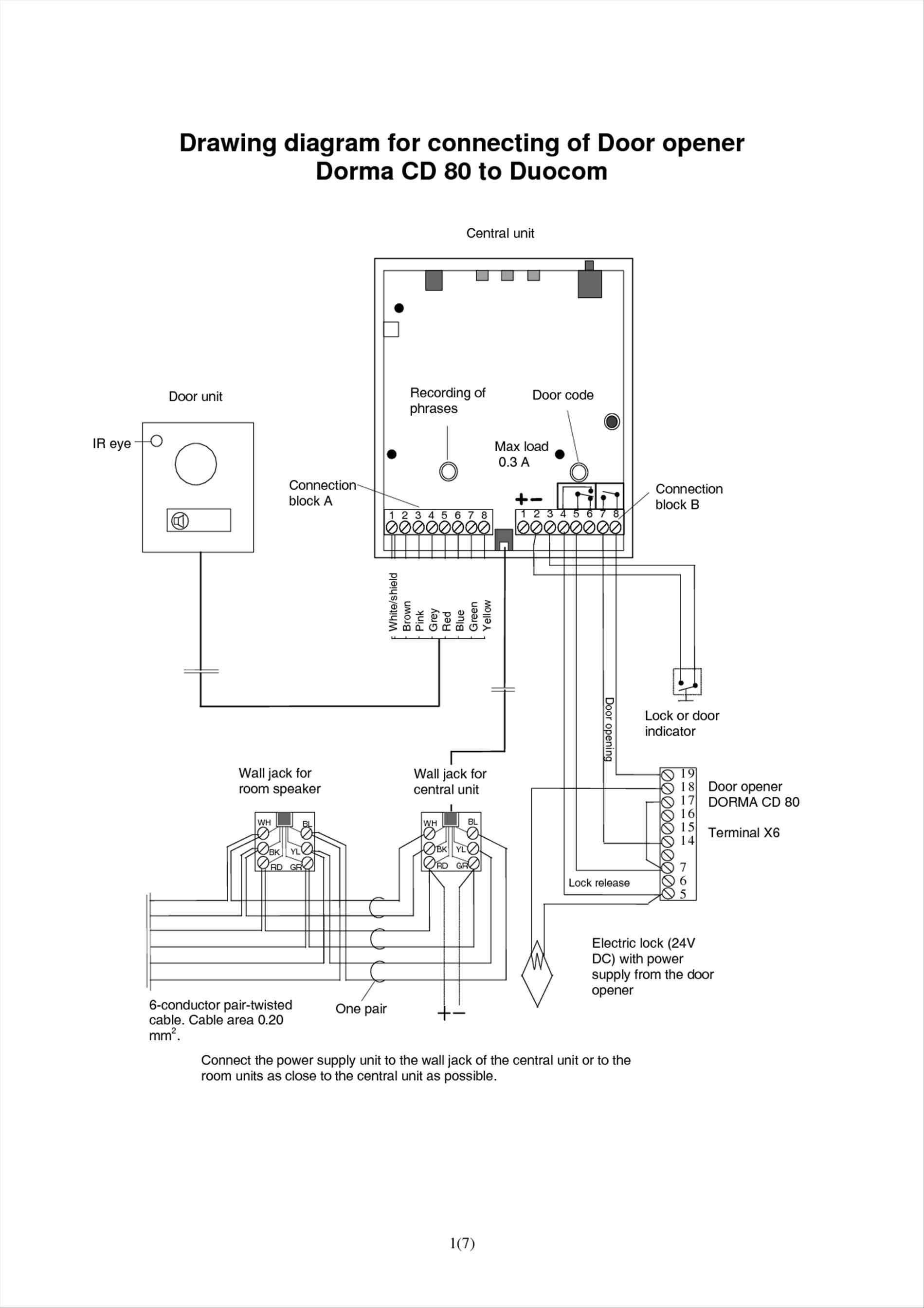 Garage Door Opener Wiring Diagram Wiring Diagram for A Garage Inspirationa Genie Garage Door Opener
