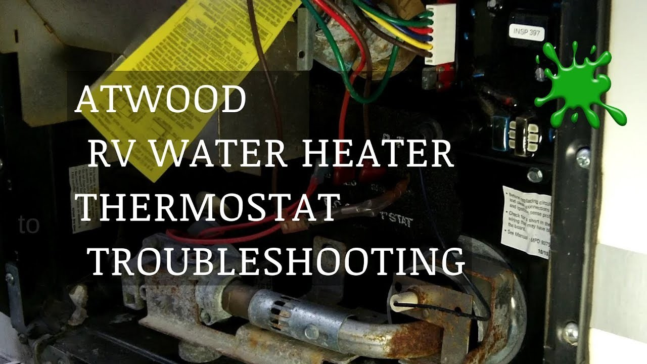 Atwood Rv Water Heater Parts Diagram