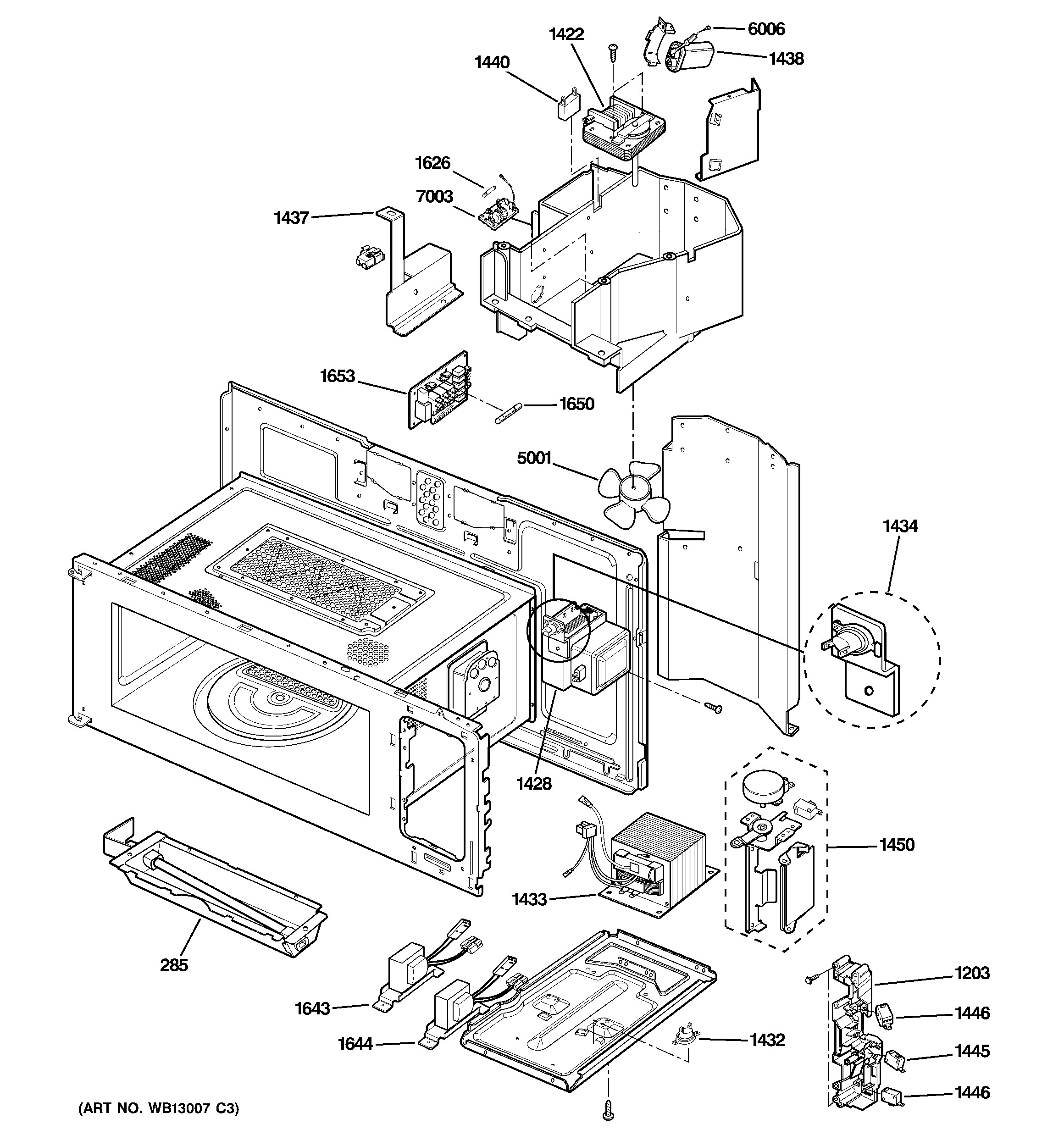 Ge Advantium 120 Parts Diagram Ge Model Sca1001kss02 Microwave Hood Bo Genuine Parts Of Ge Advantium 120 Parts Diagram