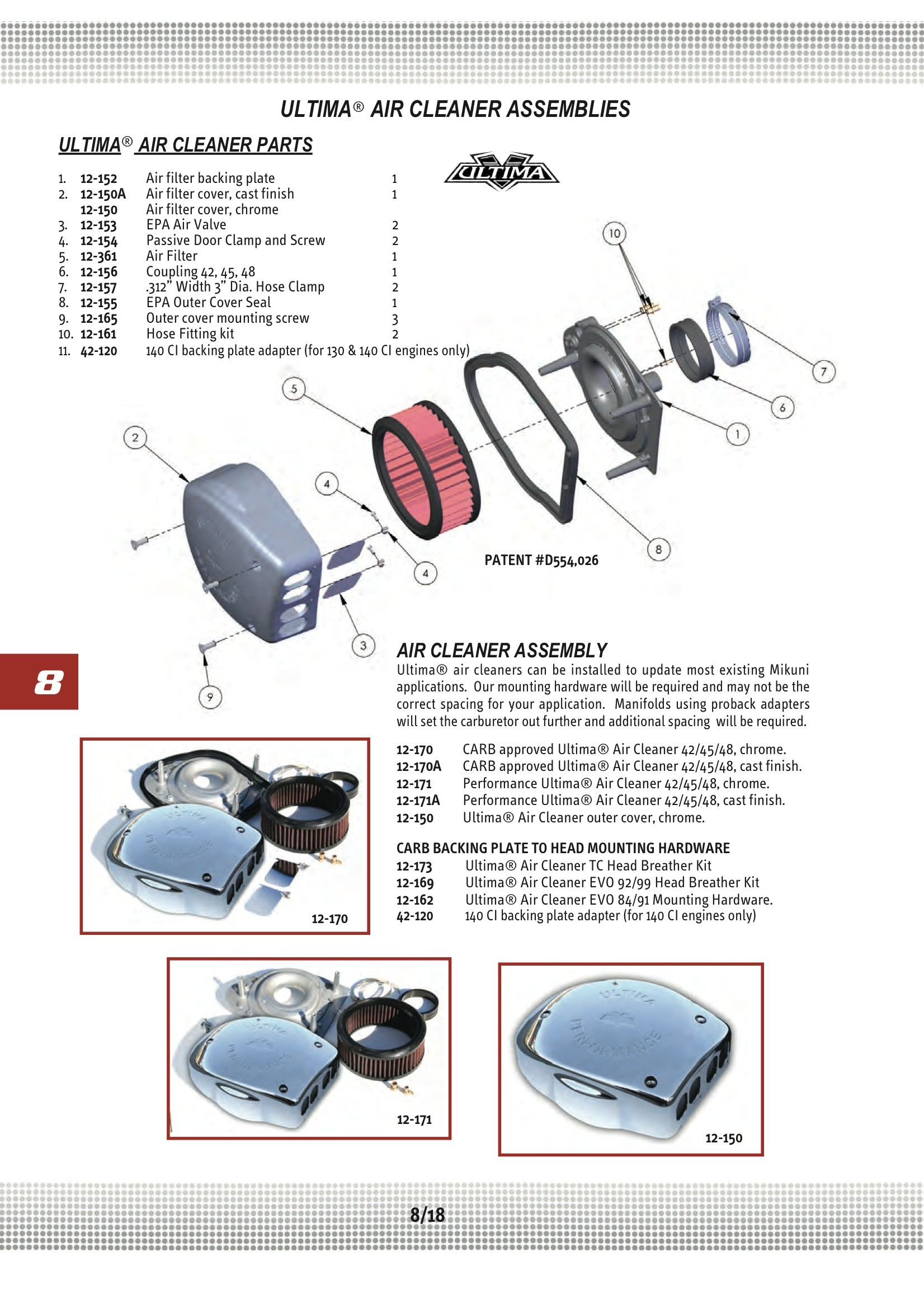 Harley Engine Parts Diagram Ultima Backing Plate Tube 3 16 Od Midwest 12 161 Of Harley Engine Parts Diagram