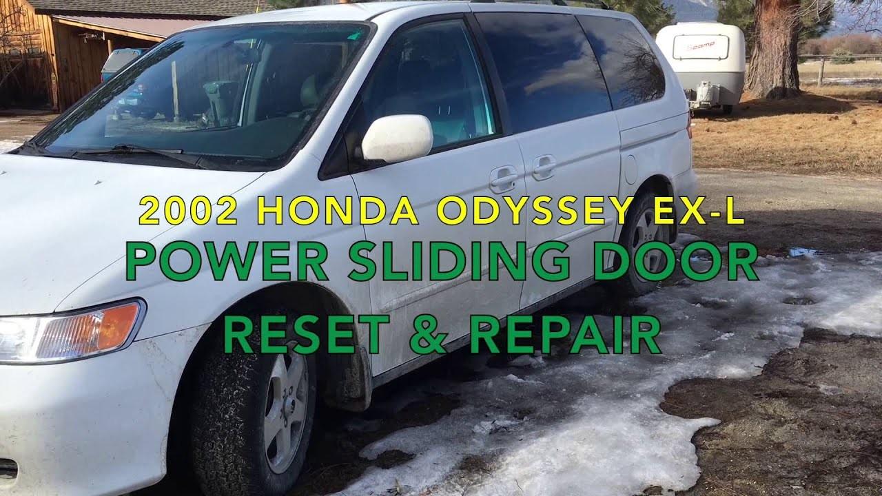 Honda Odyssey Sliding Door Parts Diagram Honda Odyssey Power Sliding Door Reset and Repair Of Honda Odyssey Sliding Door Parts Diagram