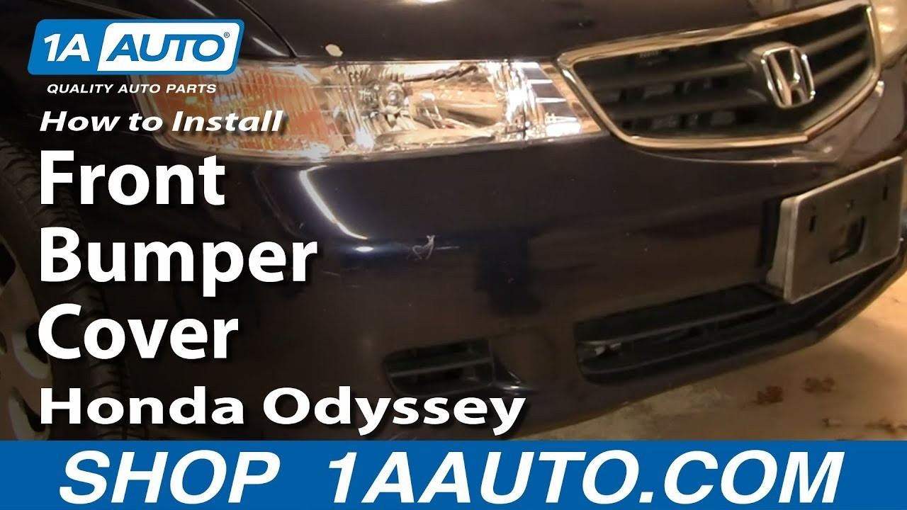 Honda Odyssey Sliding Door Parts Diagram How to Install Remove Replace Front Bumper Cover Honda Odyssey 99 04 Of Honda Odyssey Sliding Door Parts Diagram