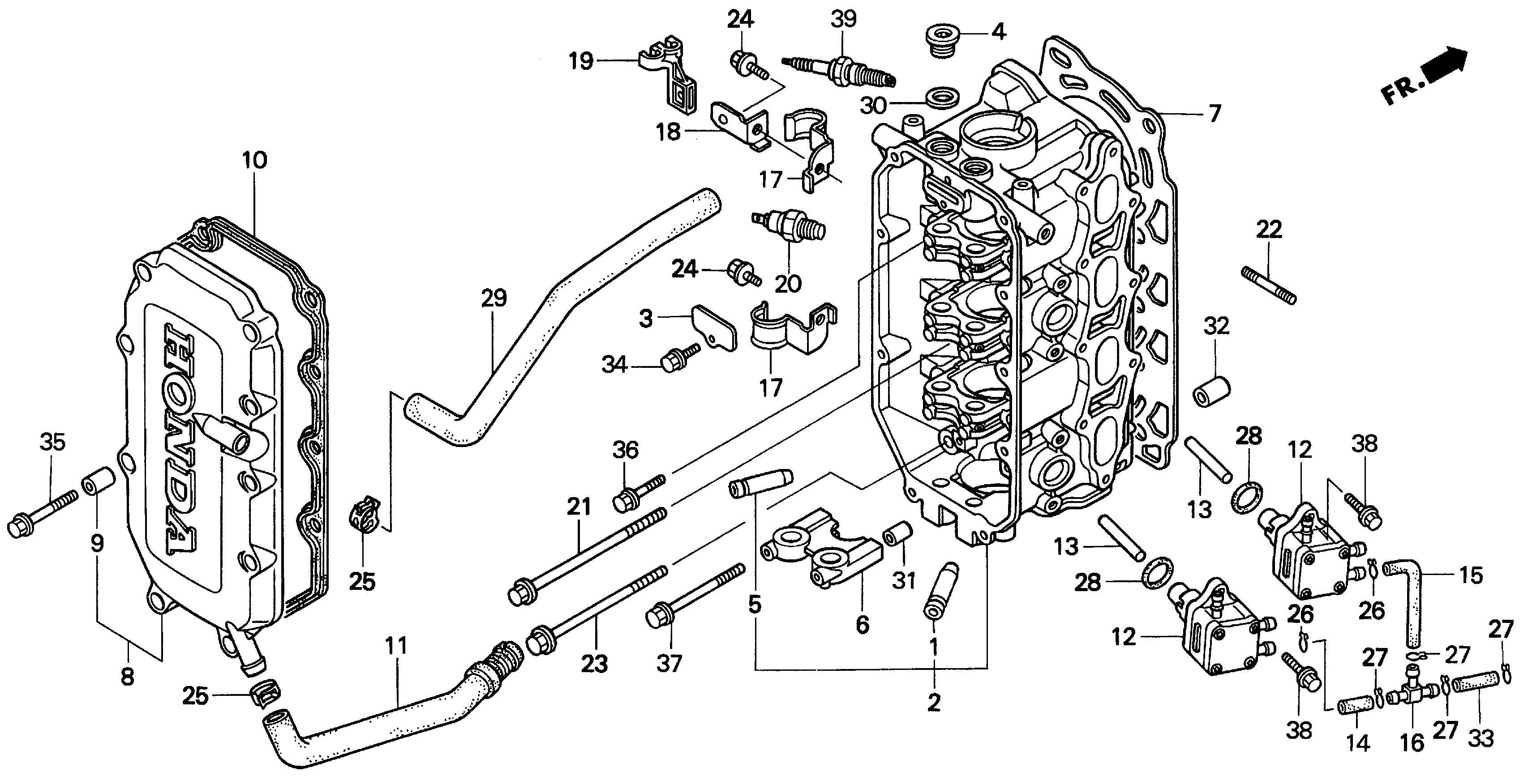 honda outboard parts diagram honda marine parts look up