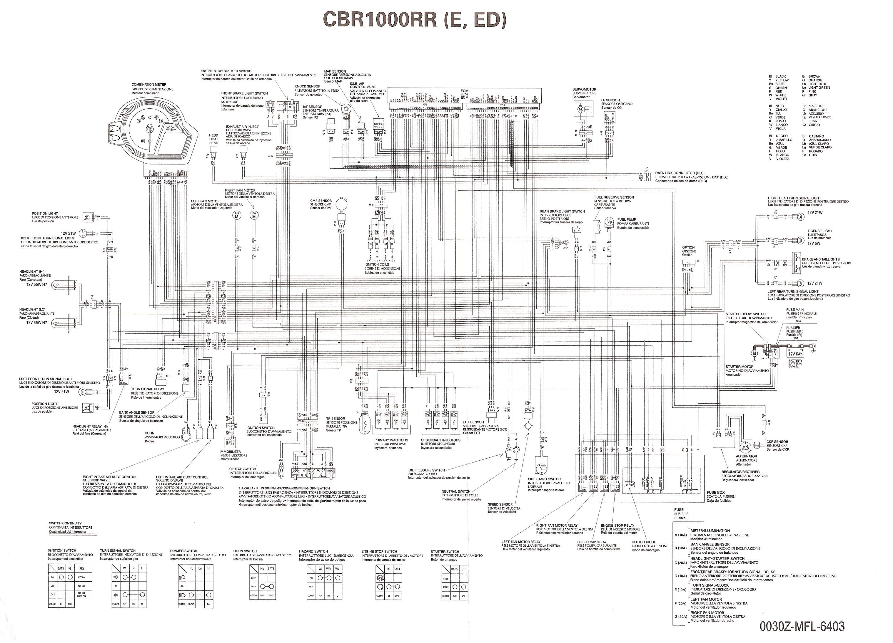 """Honda Shadow 1100 Wiring Diagram Dan S Motorcycle """"various Wiring Systems and Diagrams"""" Of Honda Shadow 1100 Wiring Diagram"""