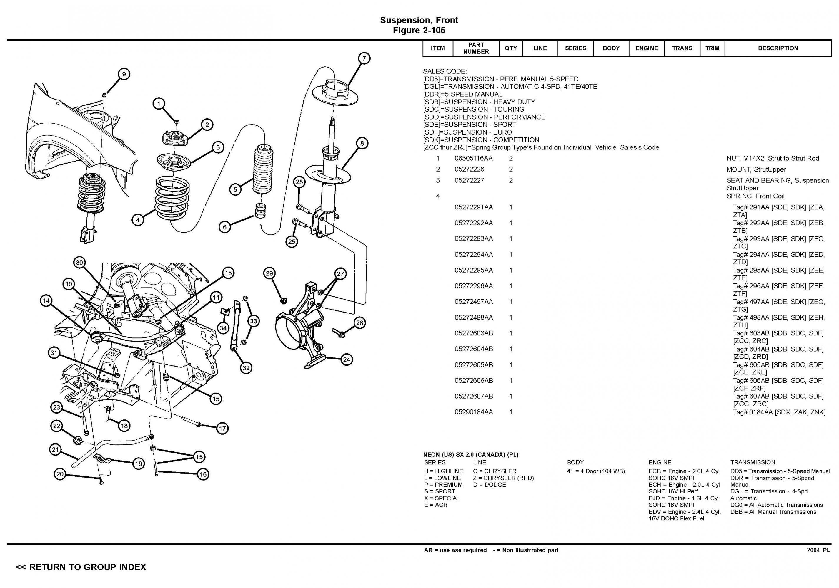 independent front suspension diagram