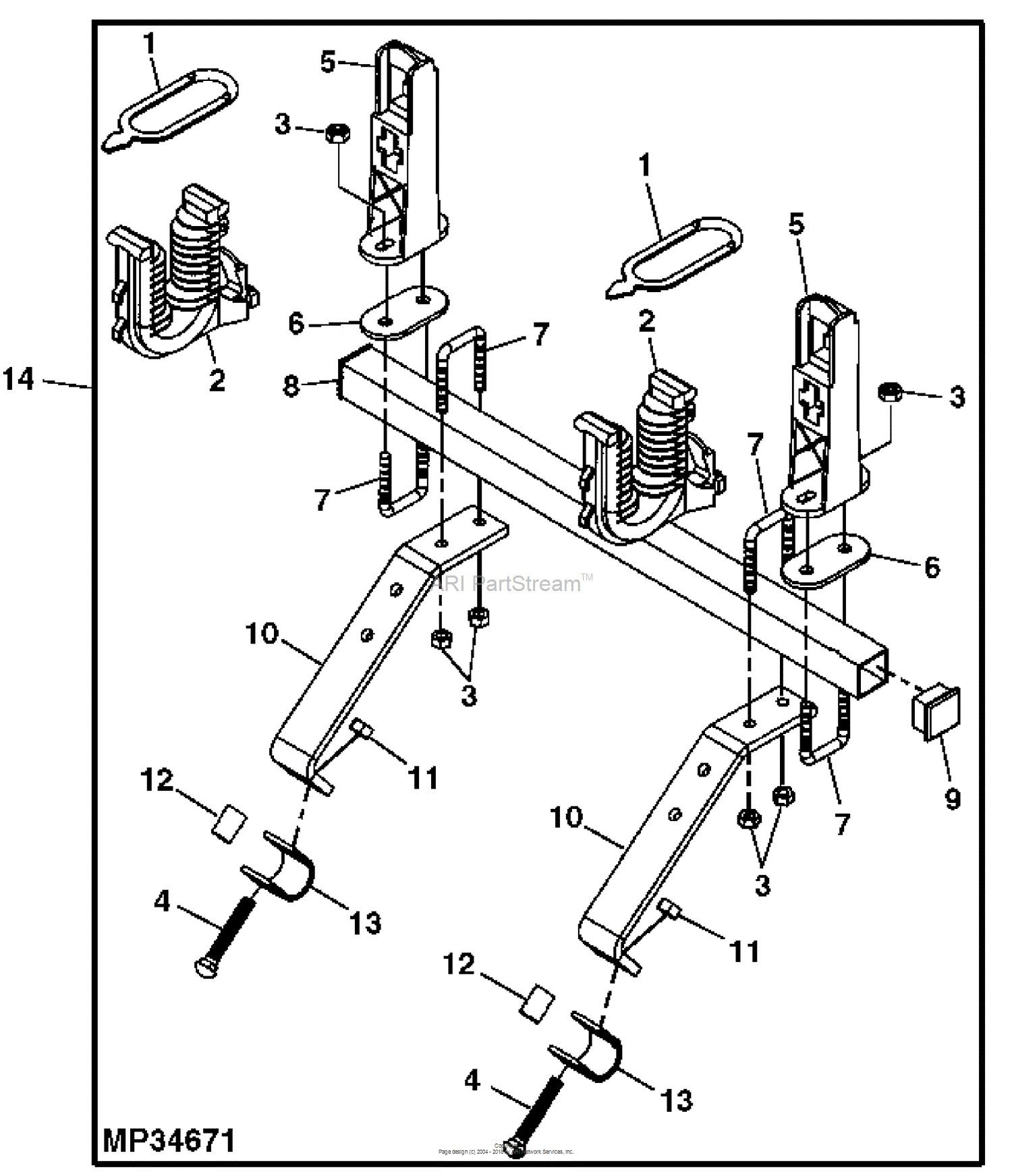 john deere 2 cylinder engine diagram