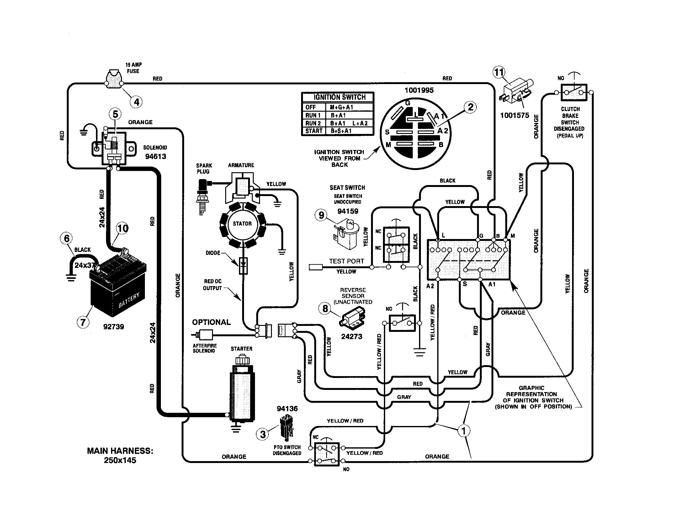 John Deere D130 Wiring Diagram Murray Riding Lawn Mower Wiring Harness Schematics Wiring Diagrams • Of John Deere D130 Wiring Diagram