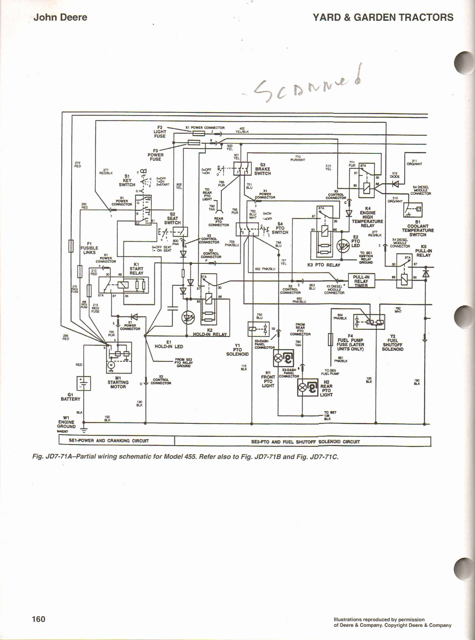 FDA36 Lt160 Wiring Diagram | Wiring Resources on
