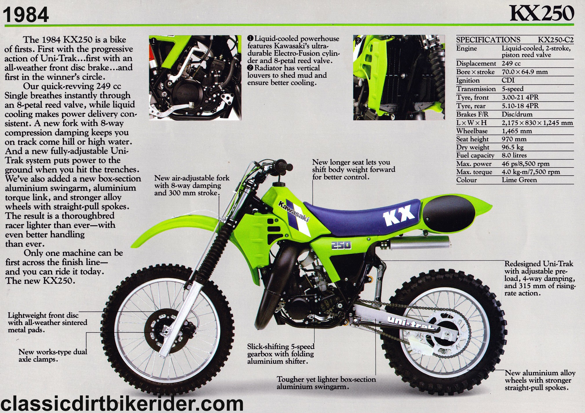 Kx 250 Engine Diagram Kawasaki Kx250 1980 89 Spotters Guide Of Kx 250 Engine Diagram