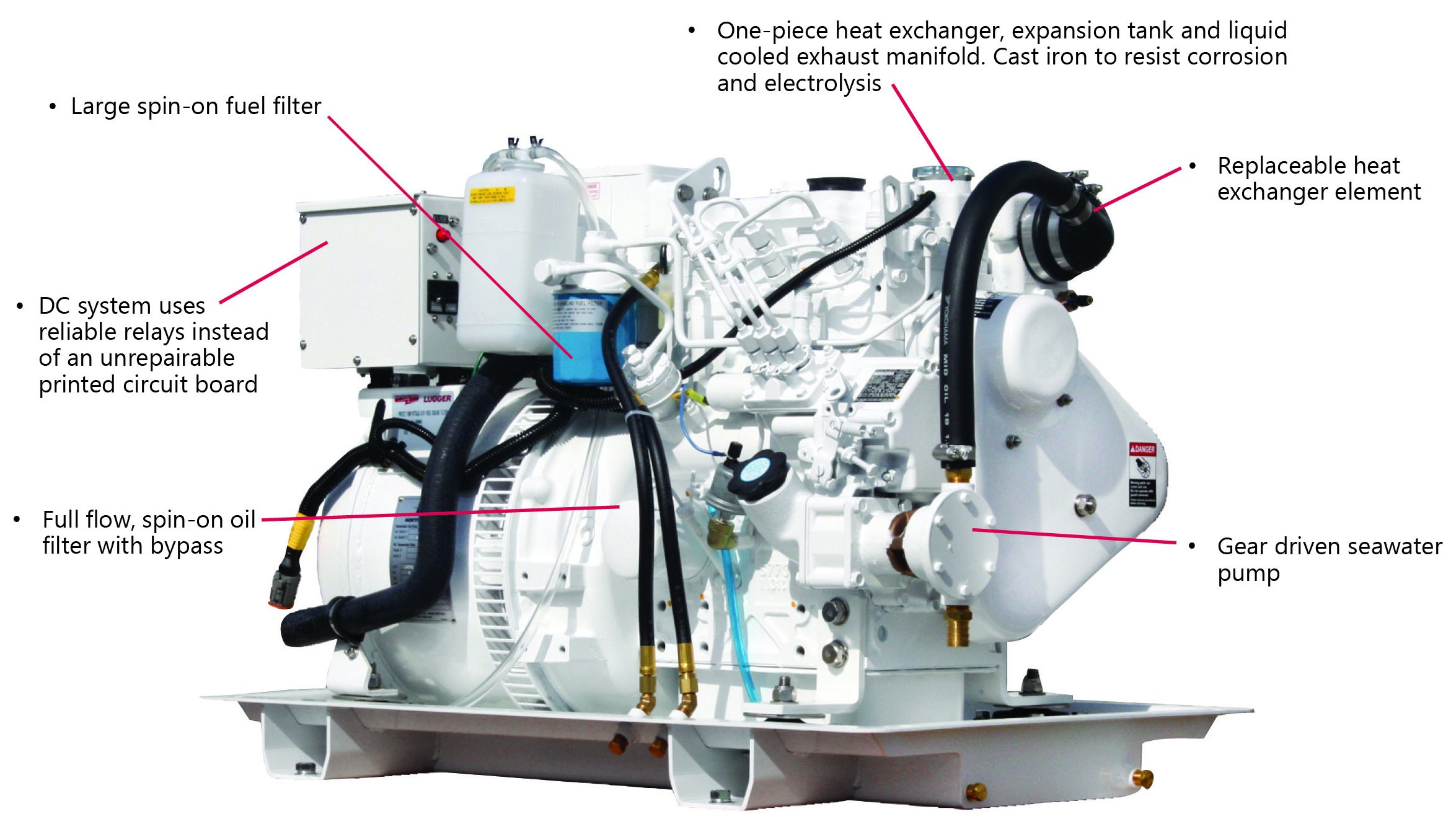 Main Engine Lube Oil System Diagram M773lw3 9 7 Kw – northern Lights Marine Generators and Technicold Of Main Engine Lube Oil System Diagram