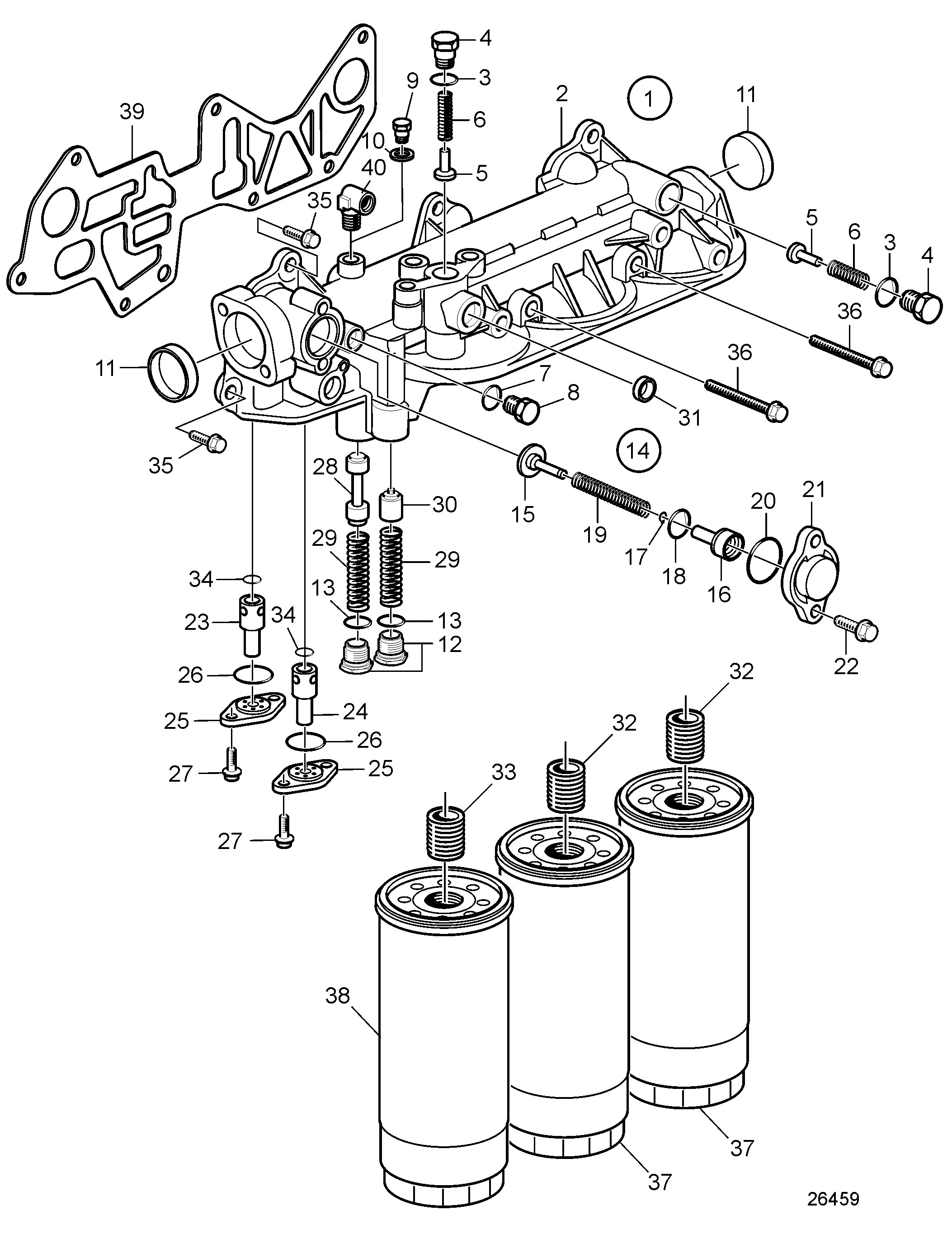 Main Engine Lube Oil System Diagram Oil Filter Housing and Oil Filter Category Details Of Main Engine Lube Oil System Diagram
