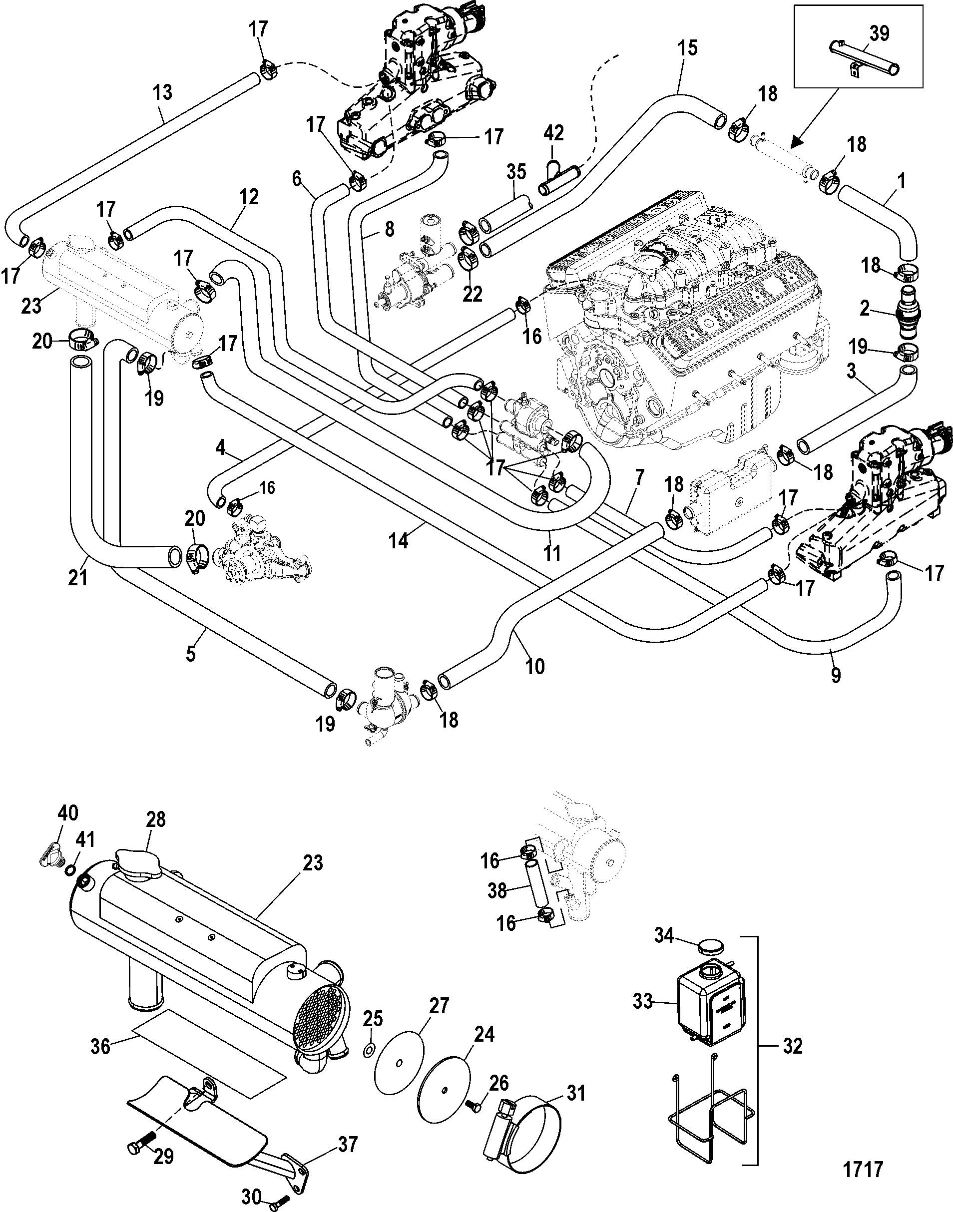 Marine Engine Cooling System Diagram Hardin Marine Closed Cooling System Of Marine Engine Cooling System Diagram