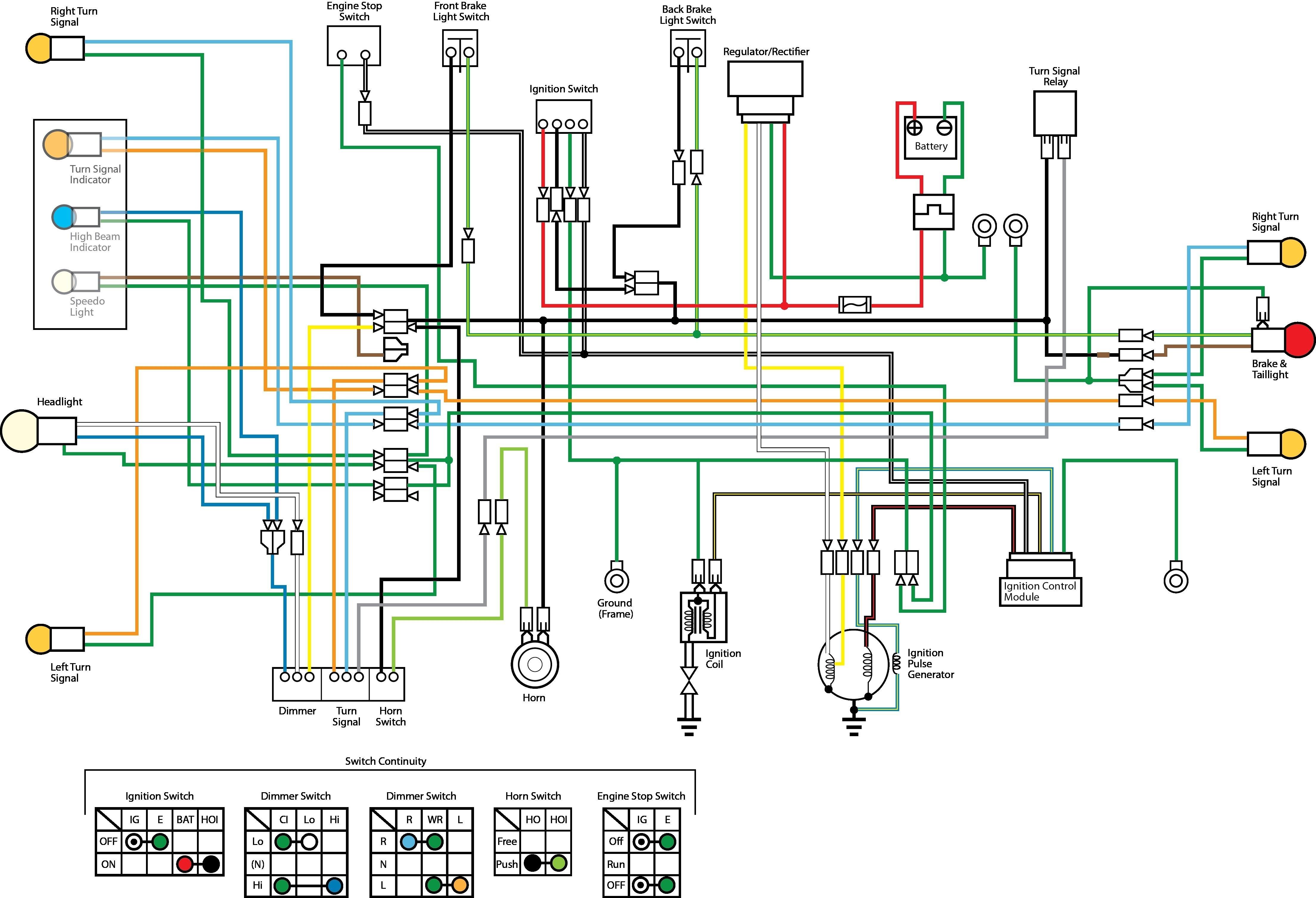Motorcycle Engine Diagram Wiring Diagram Brake Light Switch Refrence Universal Motorcycle Of Motorcycle Engine Diagram