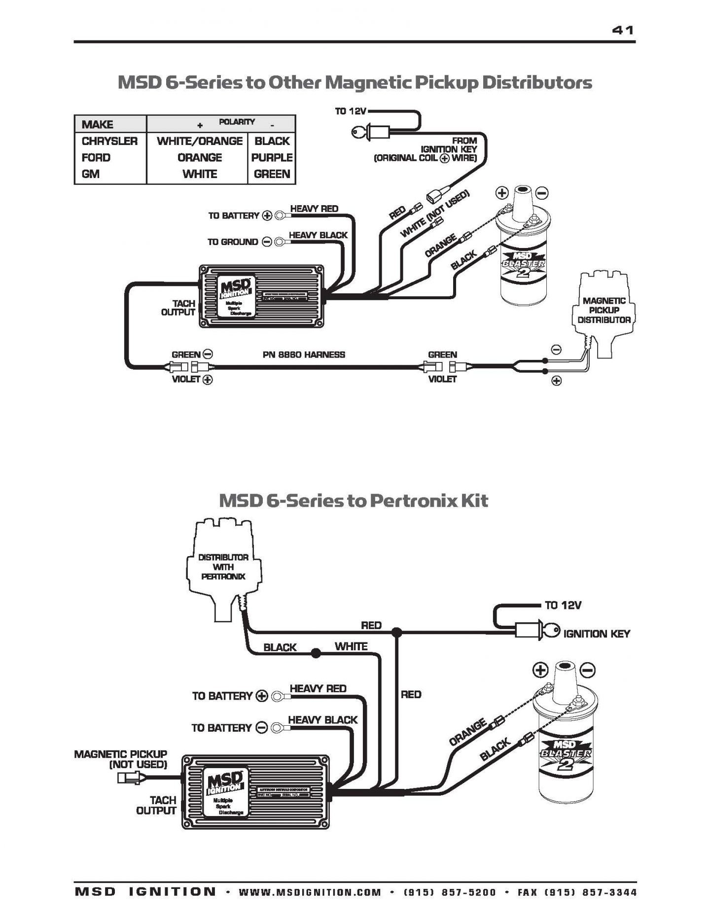 Msd Distributor Wiring Diagram Msd Ready to Run Distributor Wiring Diagram Technical Details and Of Msd Distributor Wiring Diagram