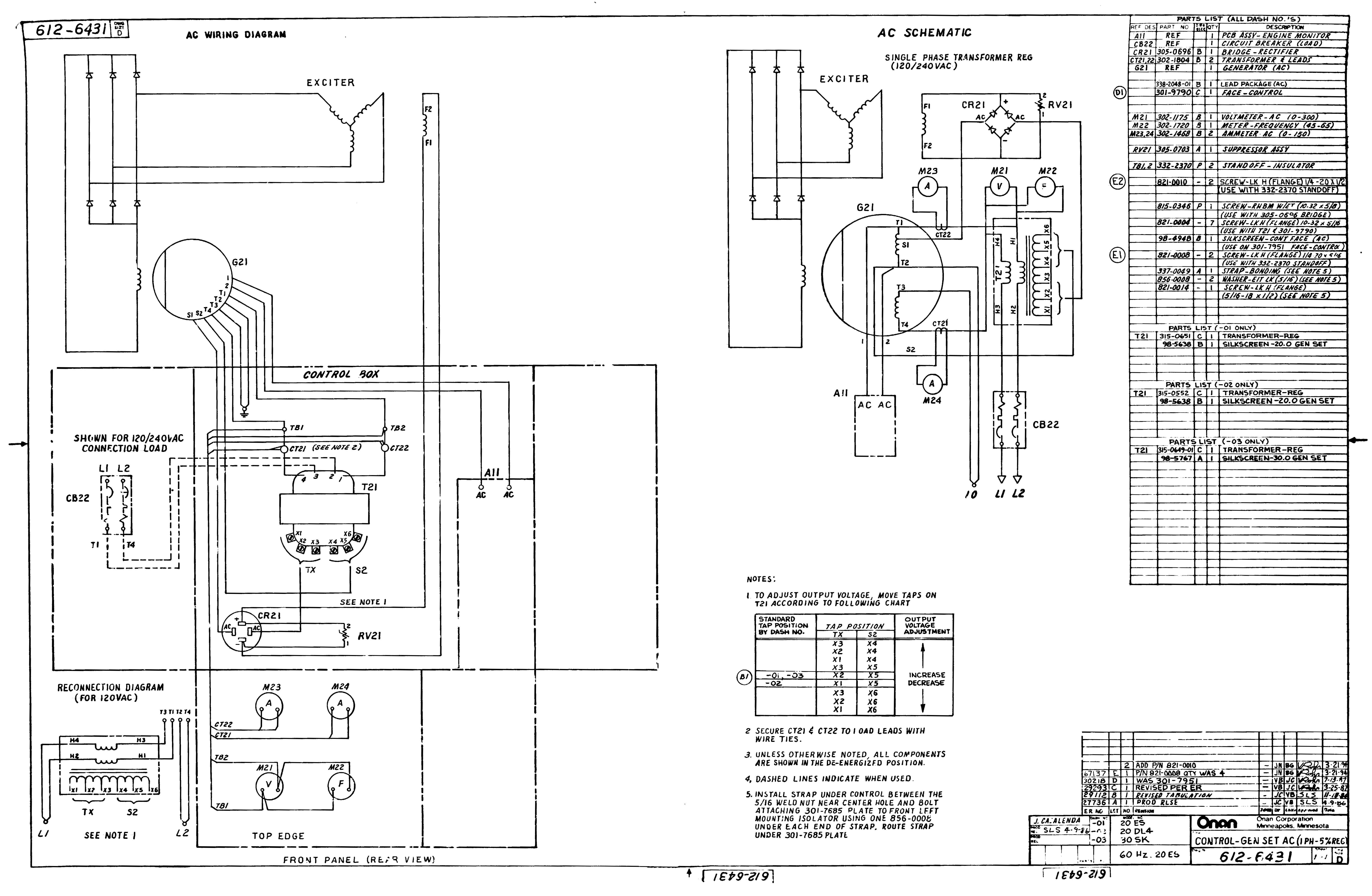 Onan Generator Wire Diagram My Wiring Diagram