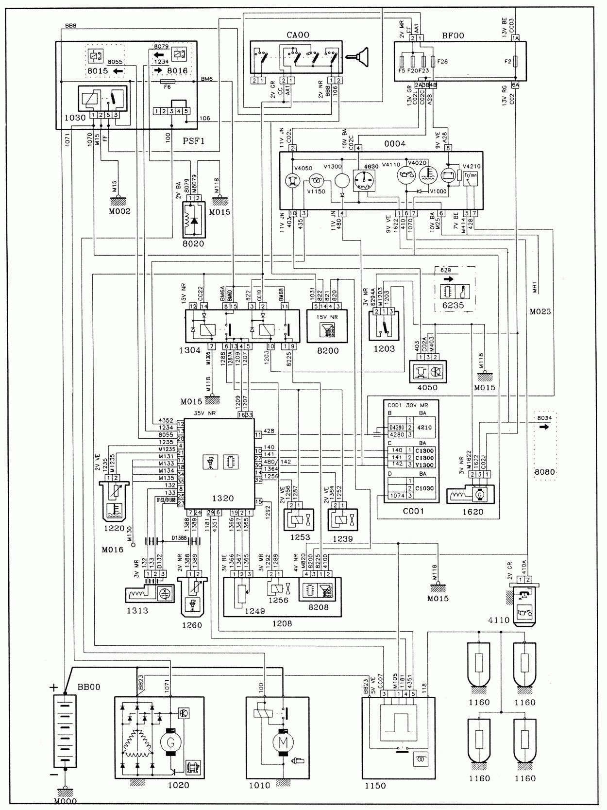 peugeot 307 hdi engine diagram