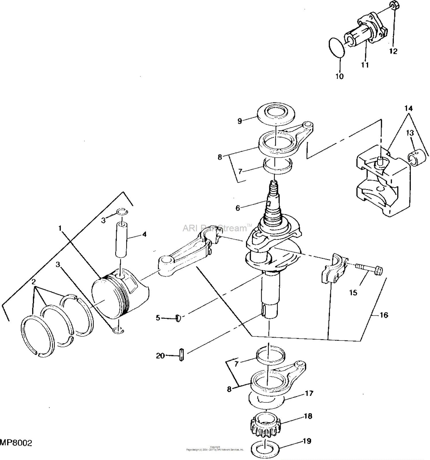 Piston Parts Diagram John Deere Parts Diagrams John Deere F525 Front Mower Shown W Of Piston Parts Diagram