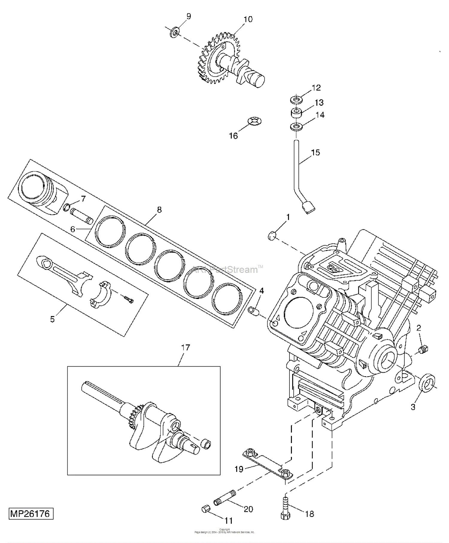 Piston Parts Diagram John Deere Parts Diagrams John Deere F687 Gas Z Trak Front Mower Of Piston Parts Diagram