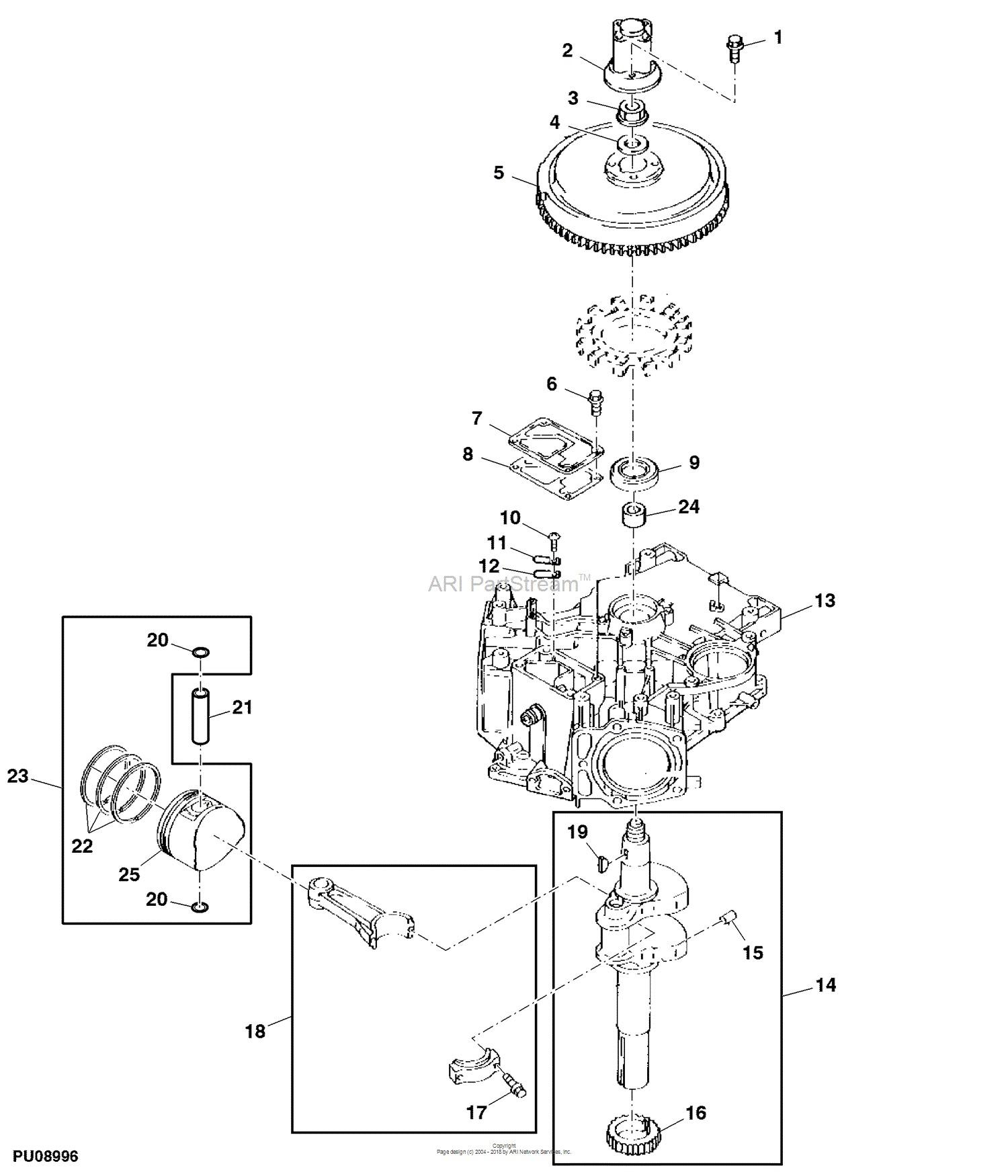Piston Parts Diagram John Deere Parts Diagrams John Deere F725 Front Mower Pc Of Piston Parts Diagram