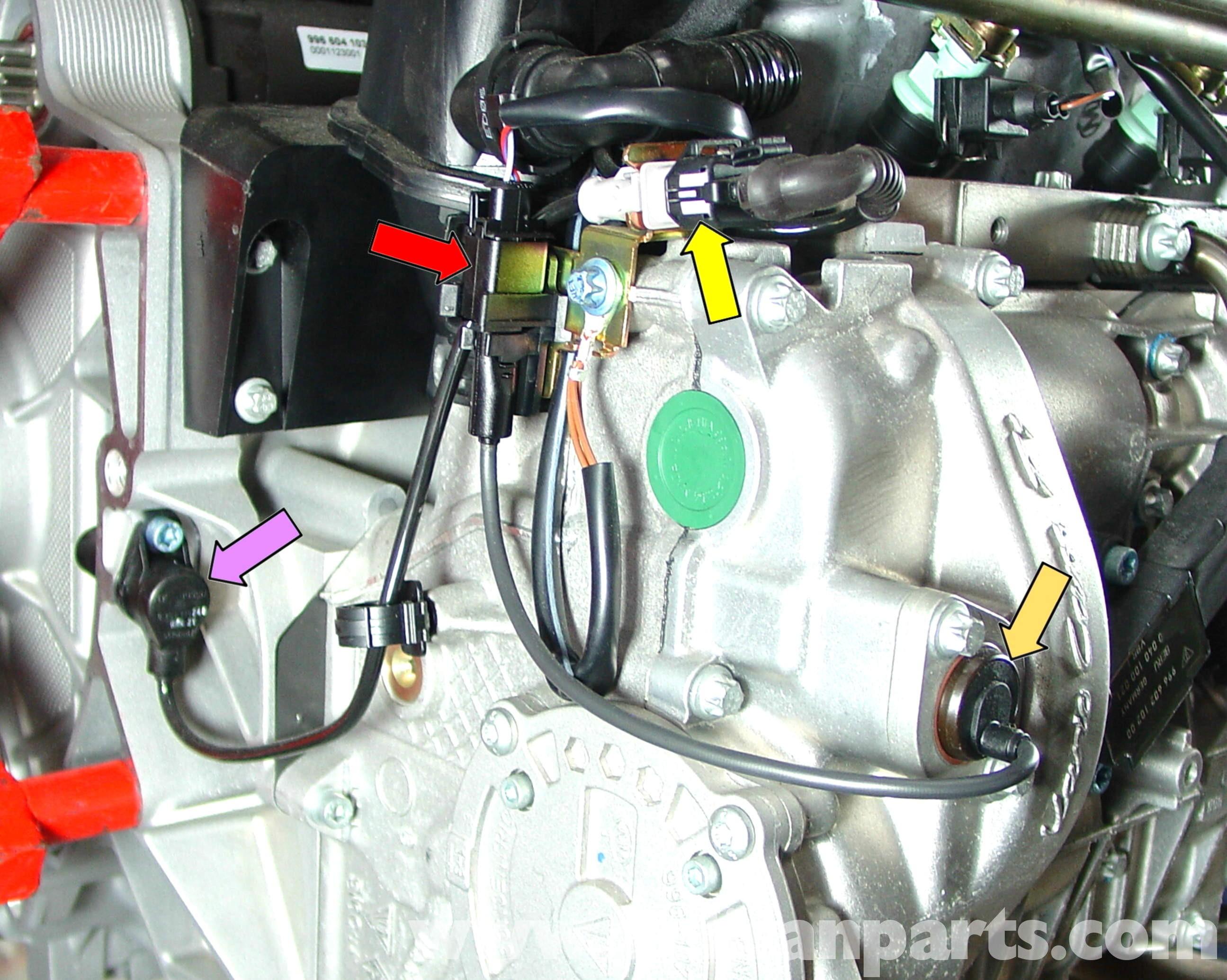 Porsche 911 Engine Diagram 964 Wiring 2005 Fuse Carrera Sensor Replacement 996 1998 Of