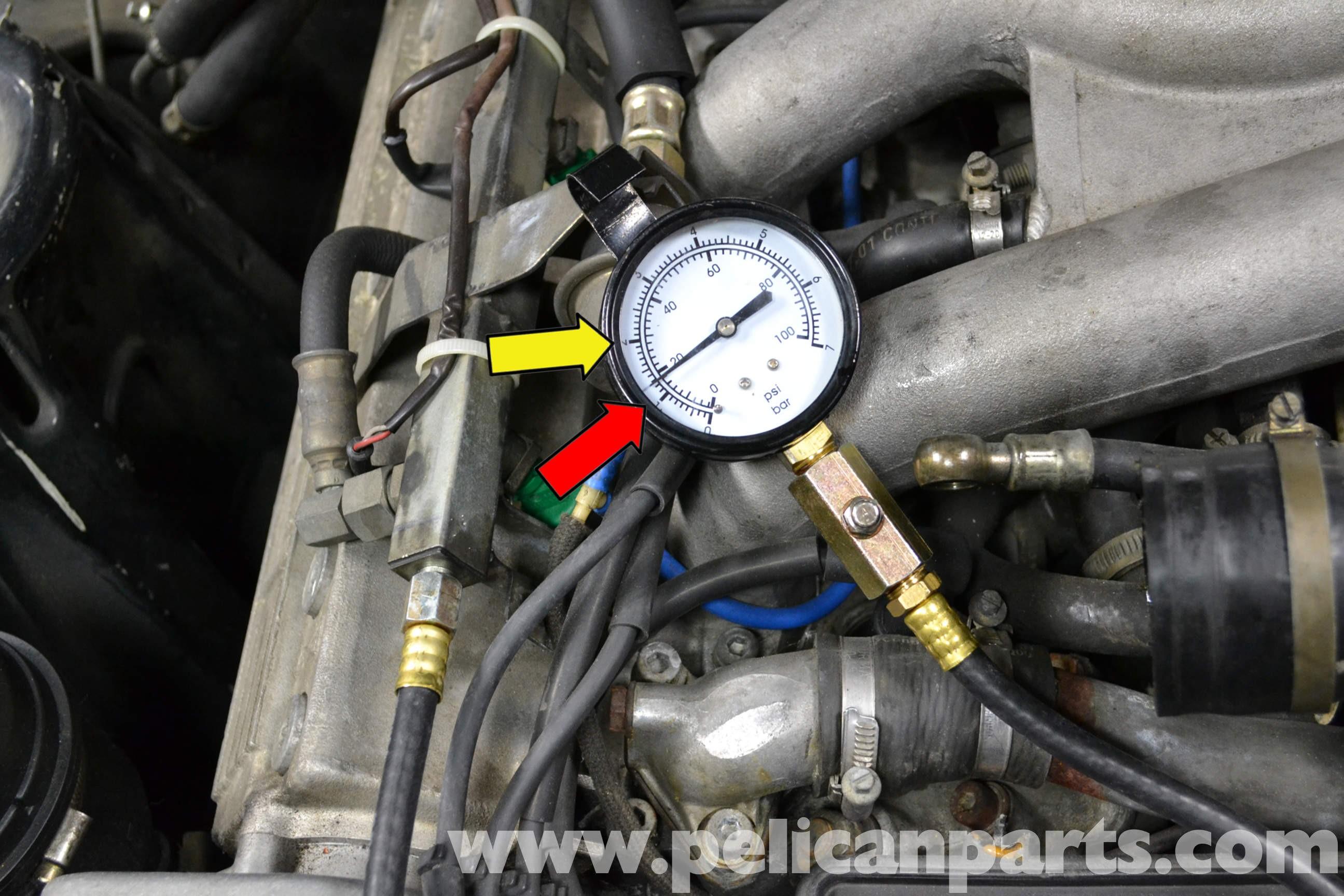 porsche 944 engine diagram porsche 944 turbo fuel system pressure tests  1986 1991 of porsche 944
