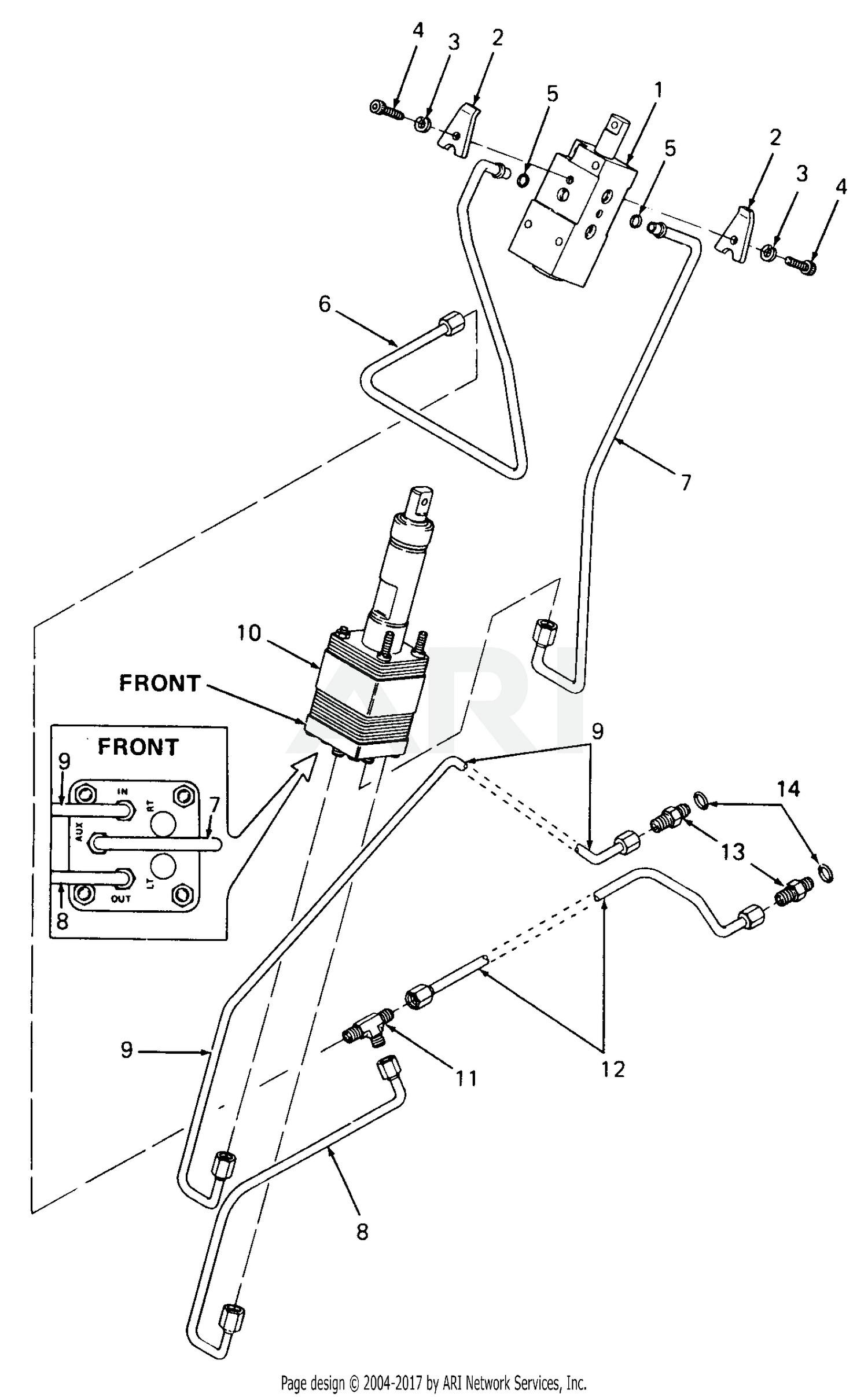 Power Steering Line Diagram Cub Cadet Parts Diagrams Cub Cadet 1862 S N 821 060 836 000 142 Of Power Steering Line Diagram