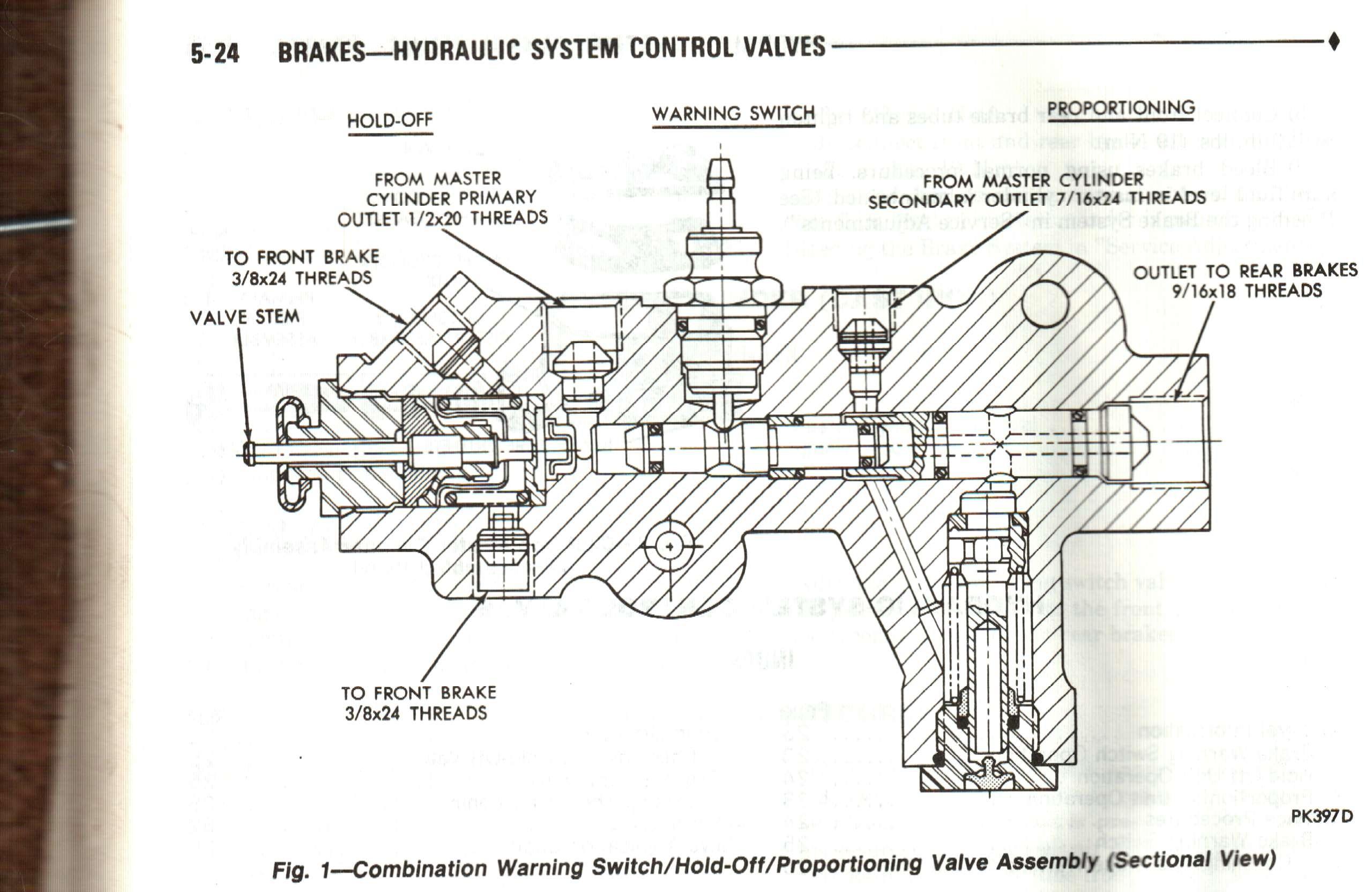 valve proportioning brake dodge diagram ram proportion jeep ramcharger durango mopar brakes gm cummins truck power wagon front w150 help