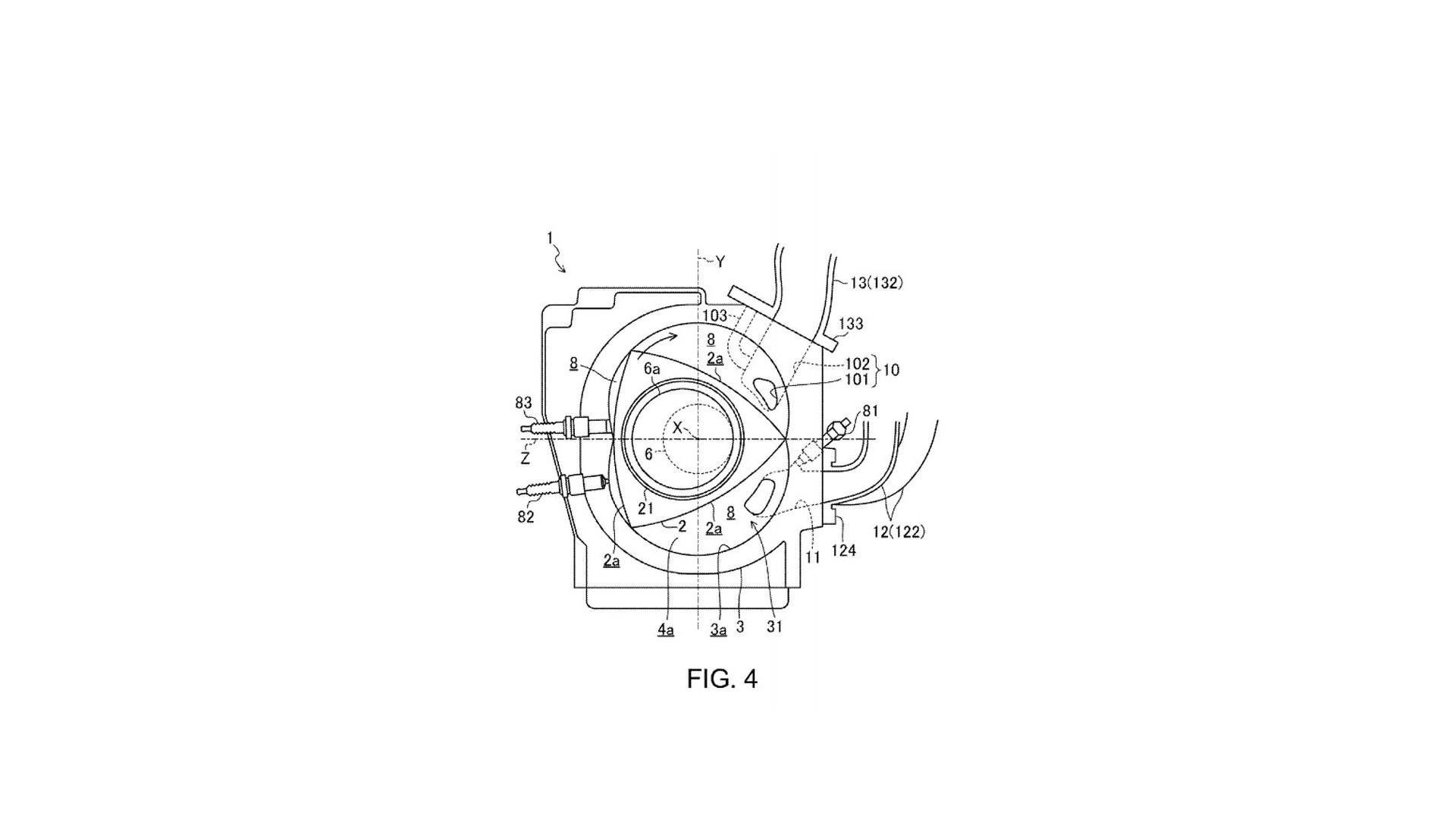 rotary engine diagram mazda patents a new rotary engine