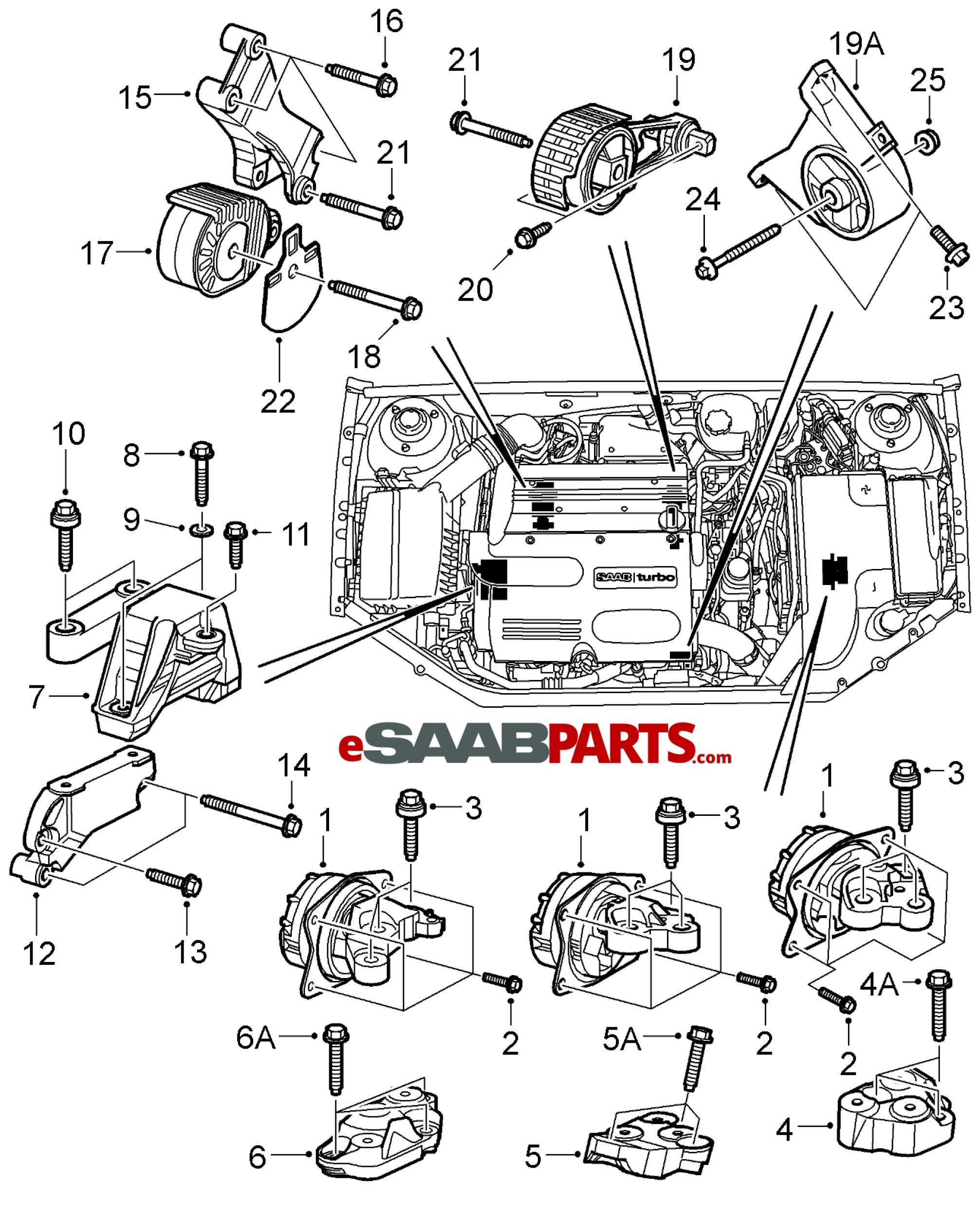 Saab 9 5 Engine Diagram 2 Saab Engine Bay Diagram Layout Wiring Diagrams • Of Saab 9 5 Engine Diagram 2