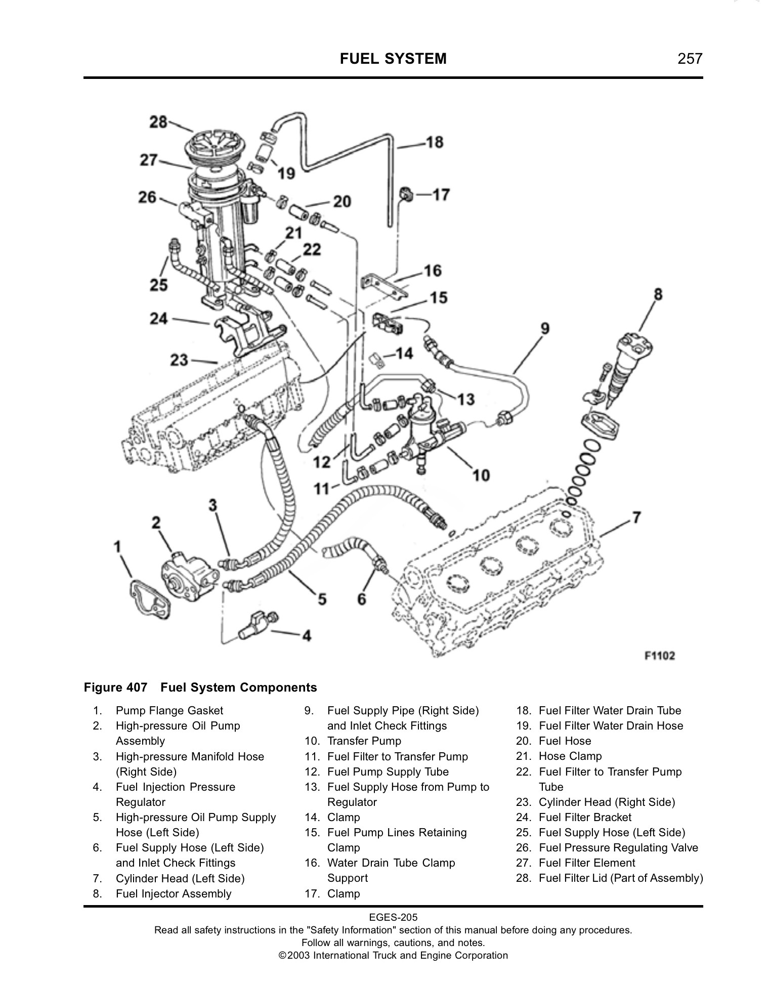School Bus Engine Diagram T444e Stock Fuel System Help Needed School Bus Conversion Resources Of School Bus Engine Diagram