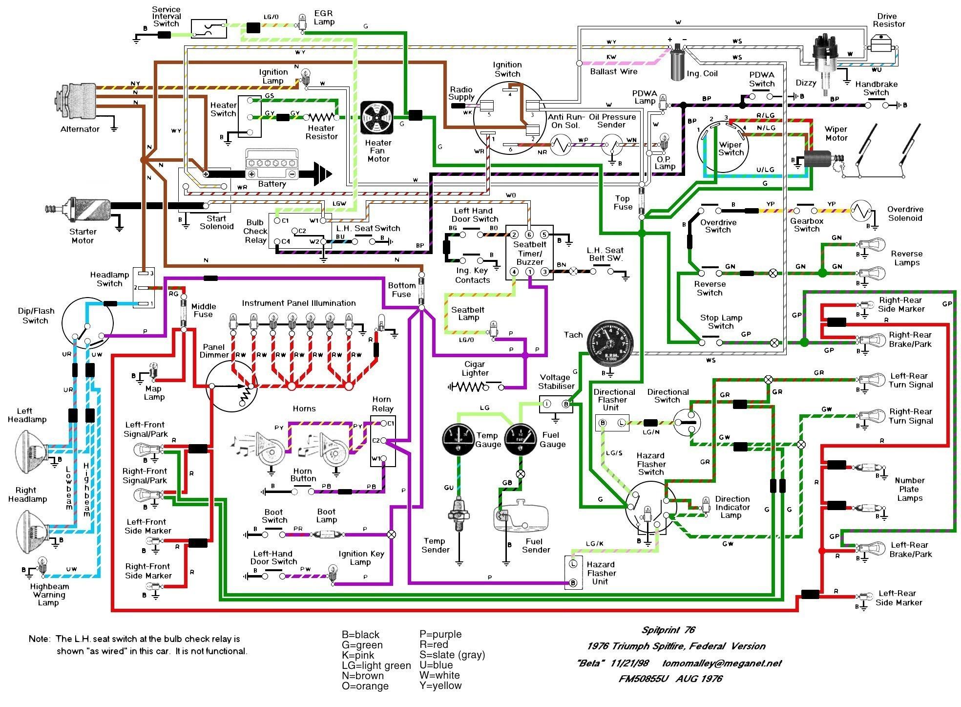 Wiring Diagram Software Mac : Seat belts diagram my wiring