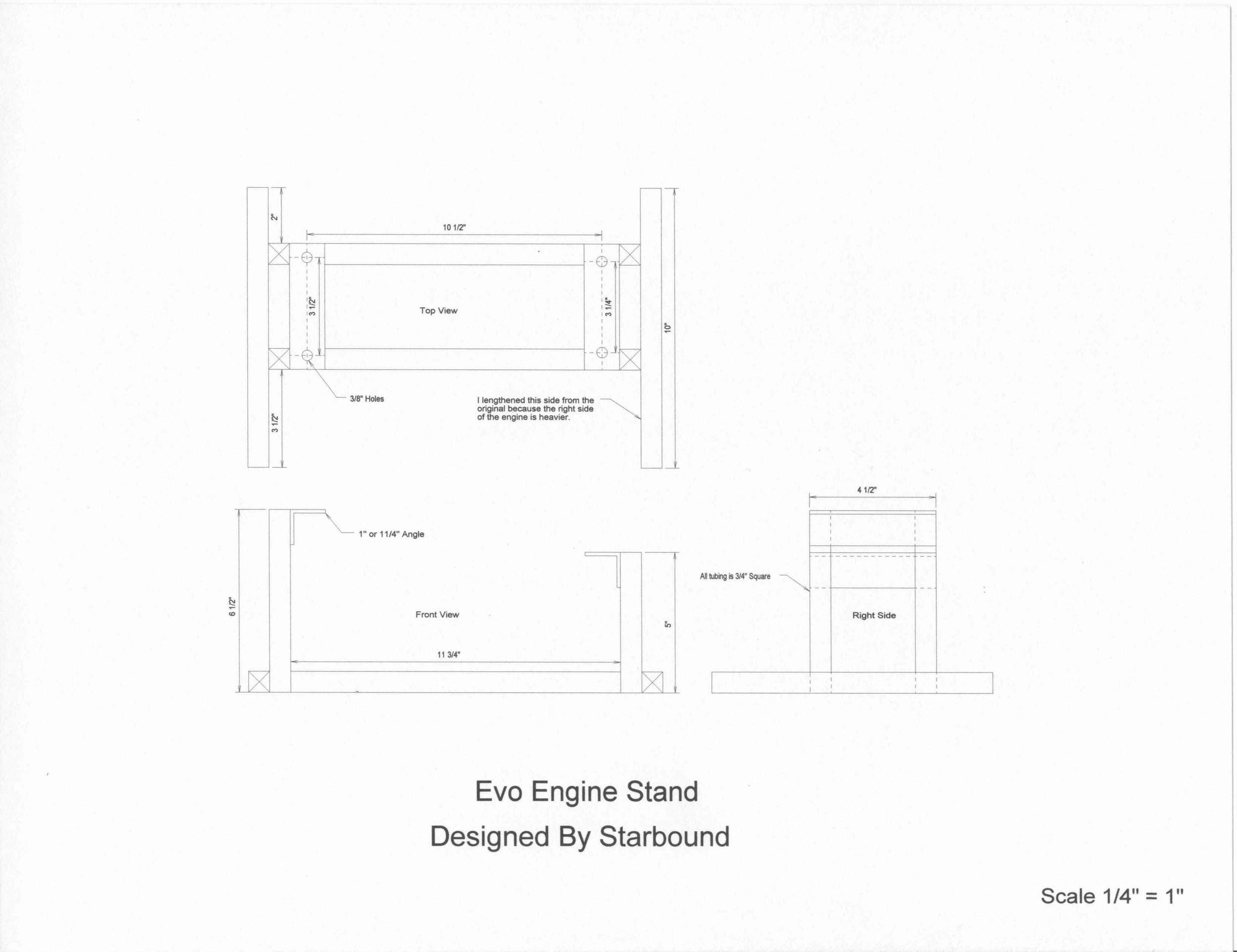 Shovelhead Engine Diagram Plans for A Harley Motor Stand – Mustaribrand Of Shovelhead Engine Diagram