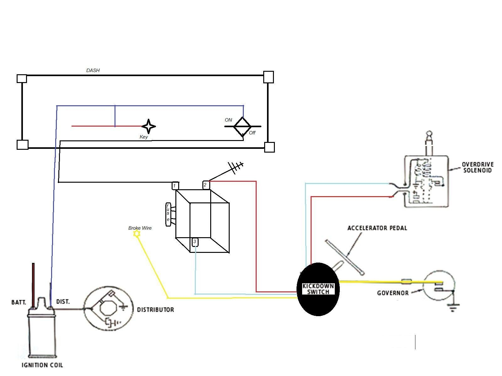 Single Wire Alternator Wiring Diagram My Wiring Diagram