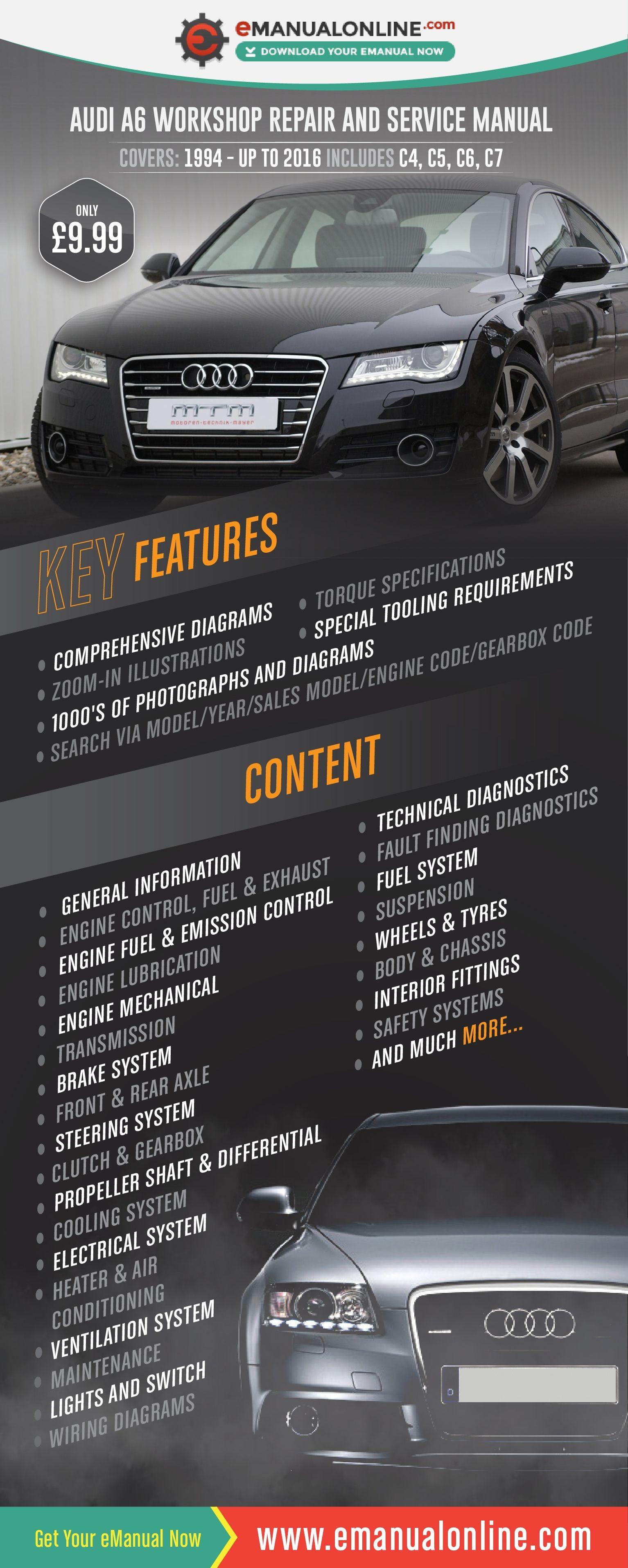 Suspension Diagram Car Audi A6 Workshop Repair and Service Manual Holidays Of Suspension Diagram Car