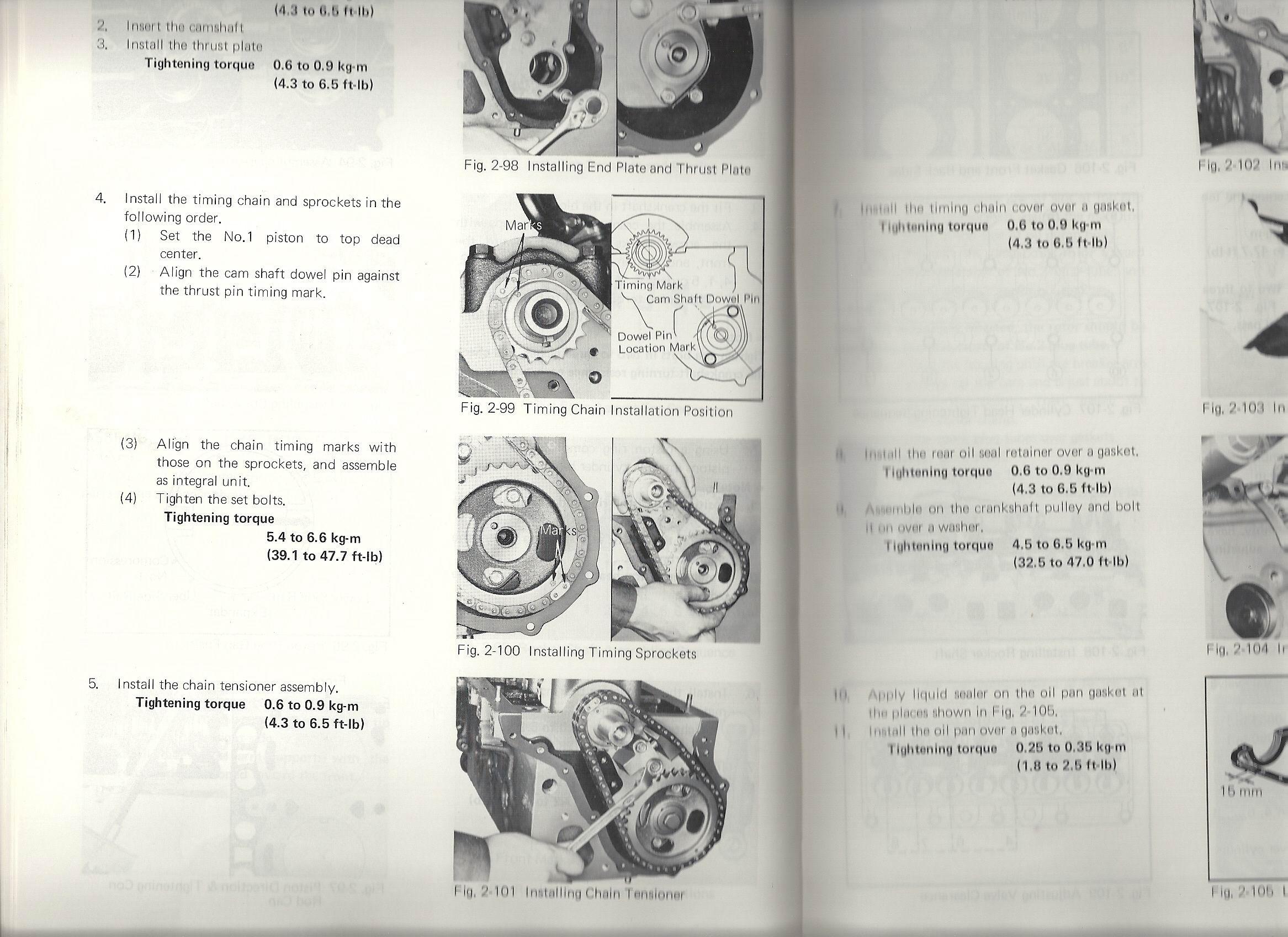 Toyota 5k Engine Diagram