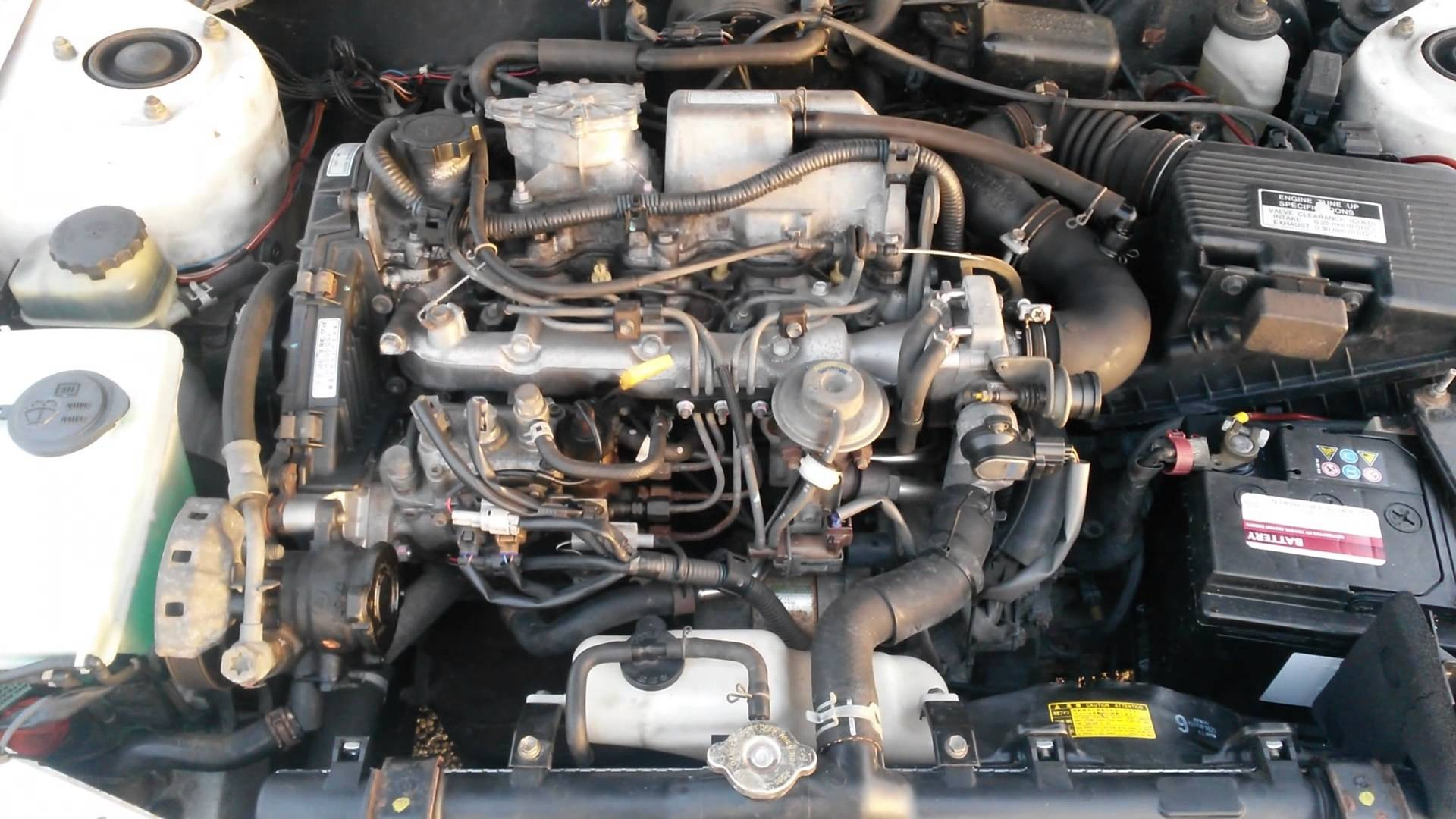 Toyota Corolla Engine Diagram Hot toyota Corolla E11 2 0d 2ce Start Up Specs and Review – toyota