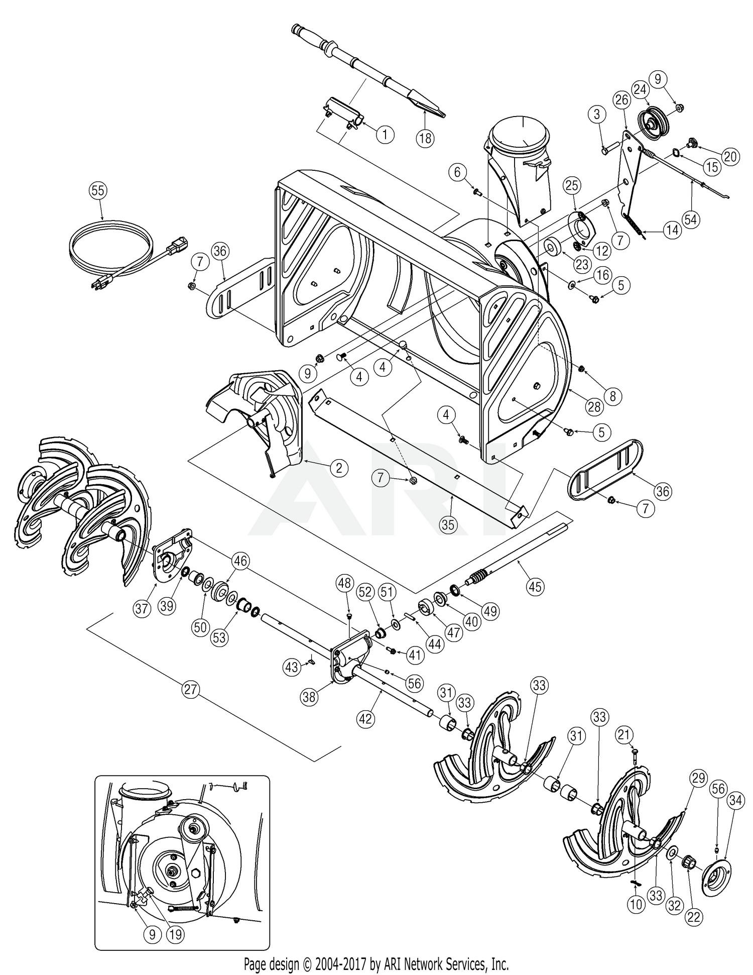 """Troy Bilt Lawn Mower Engine Diagram Troy Bilt 8026 Storm 8 5hp 26"""" Self Propelled 2005 2 31ae6go3711 Of Troy Bilt Lawn Mower Engine Diagram"""