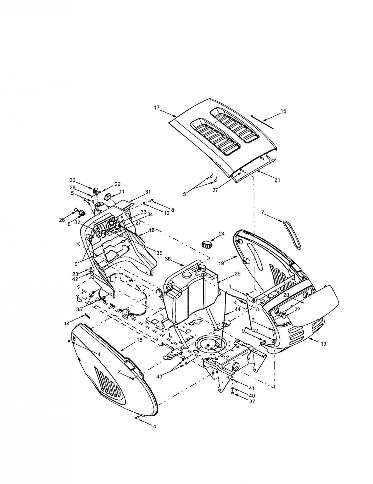 Troy Bilt Lawn Mower Parts >> Troy Bilt Horse Lawn Tractor Wiring Diagram Wiring Diagram
