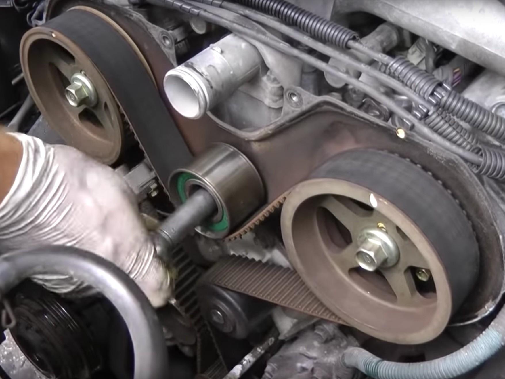 V4 Engine Diagram 1995 2002 toyota 4runner 3 4l Timing Belt Water Pump Replacement Of V4 Engine Diagram