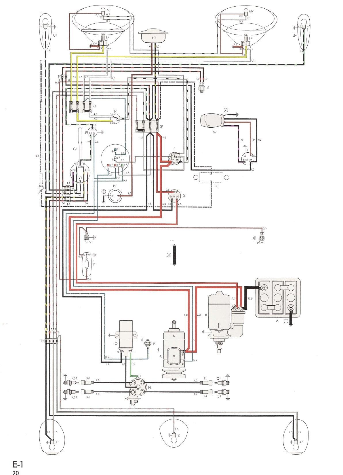 Vw Beetle Wiring Diagram Vw Kit Car Wiring Diagram Data Schematics Wiring Diagram • Of Vw Beetle Wiring Diagram