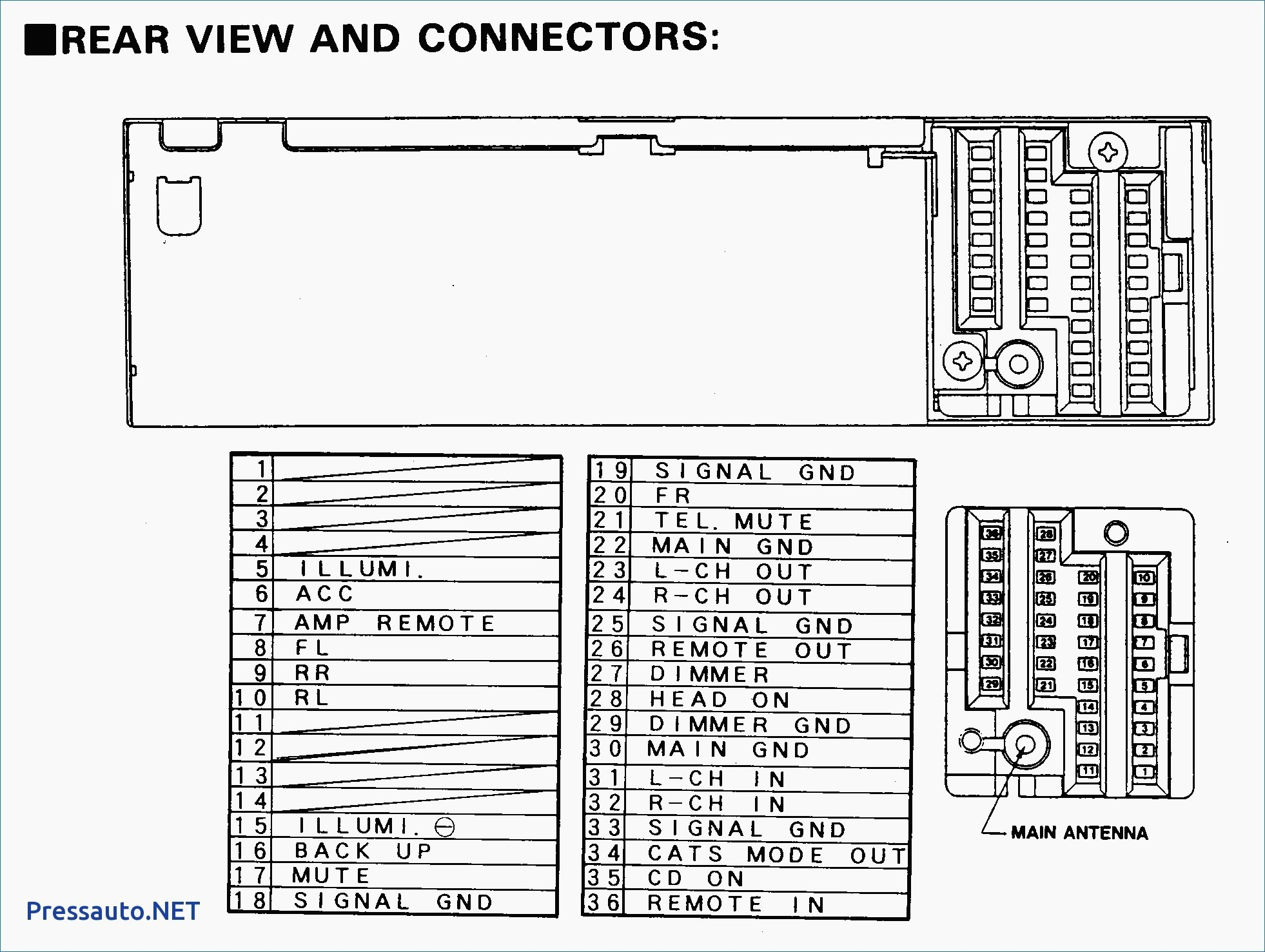 Wiring Diagram Booster Amplifier Inspirationa Pioneer Car Stereo