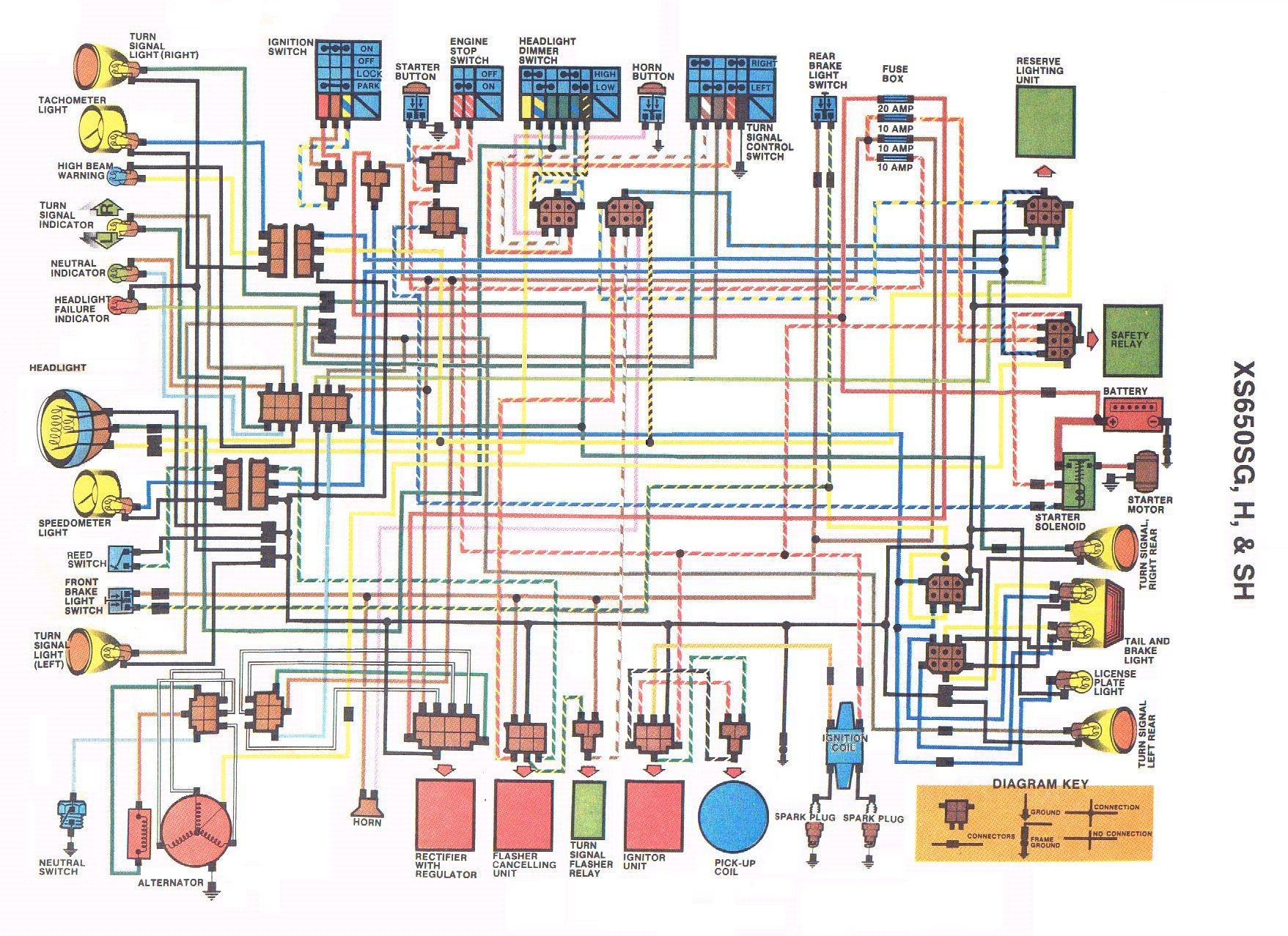 Xs650 Engine Diagram Xs650 Wiring Motorcycle Pinterest Of Xs650 Engine Diagram