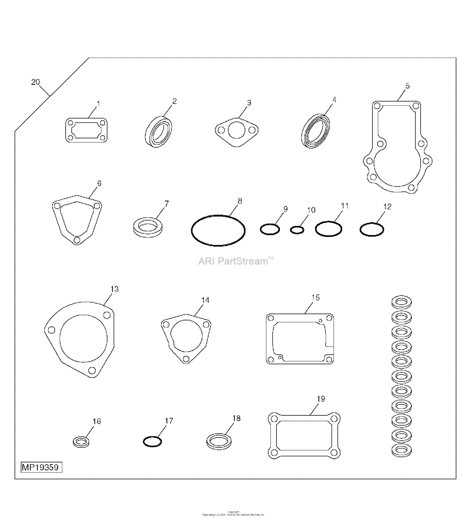 yanmar engine parts diagram