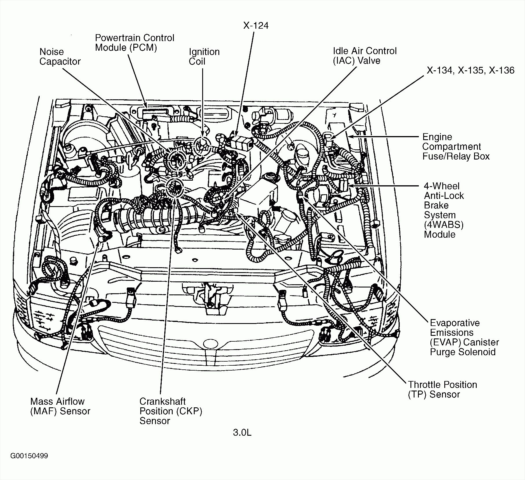 4 3 Liter V6 Vortec Engine Diagram 1992 ford Ranger 3 0 V6 Engine Diagram Of 4 3 Liter V6 Vortec Engine Diagram