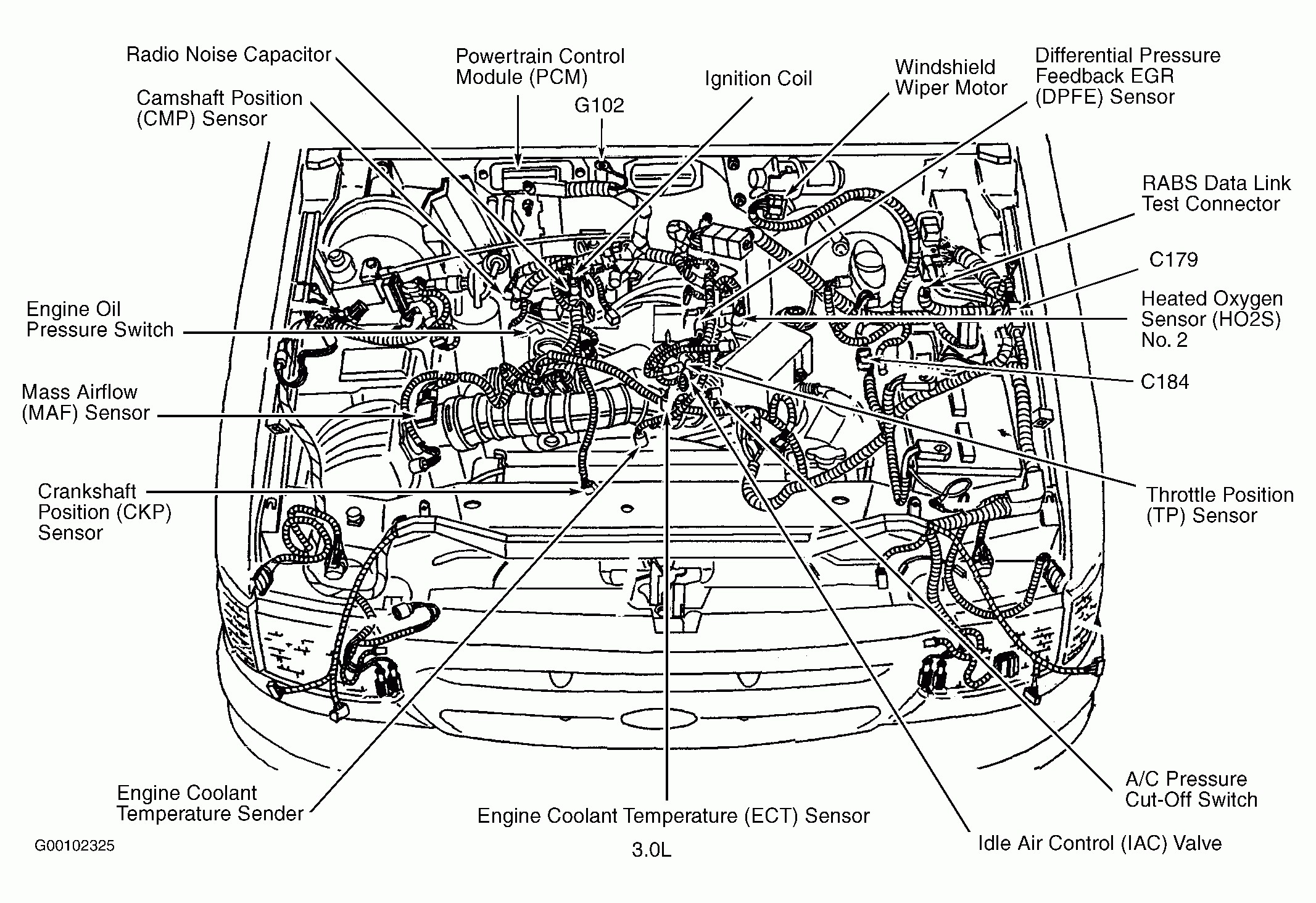 Ford 3 0 Engine Diagrams Wiring Diagram Pass
