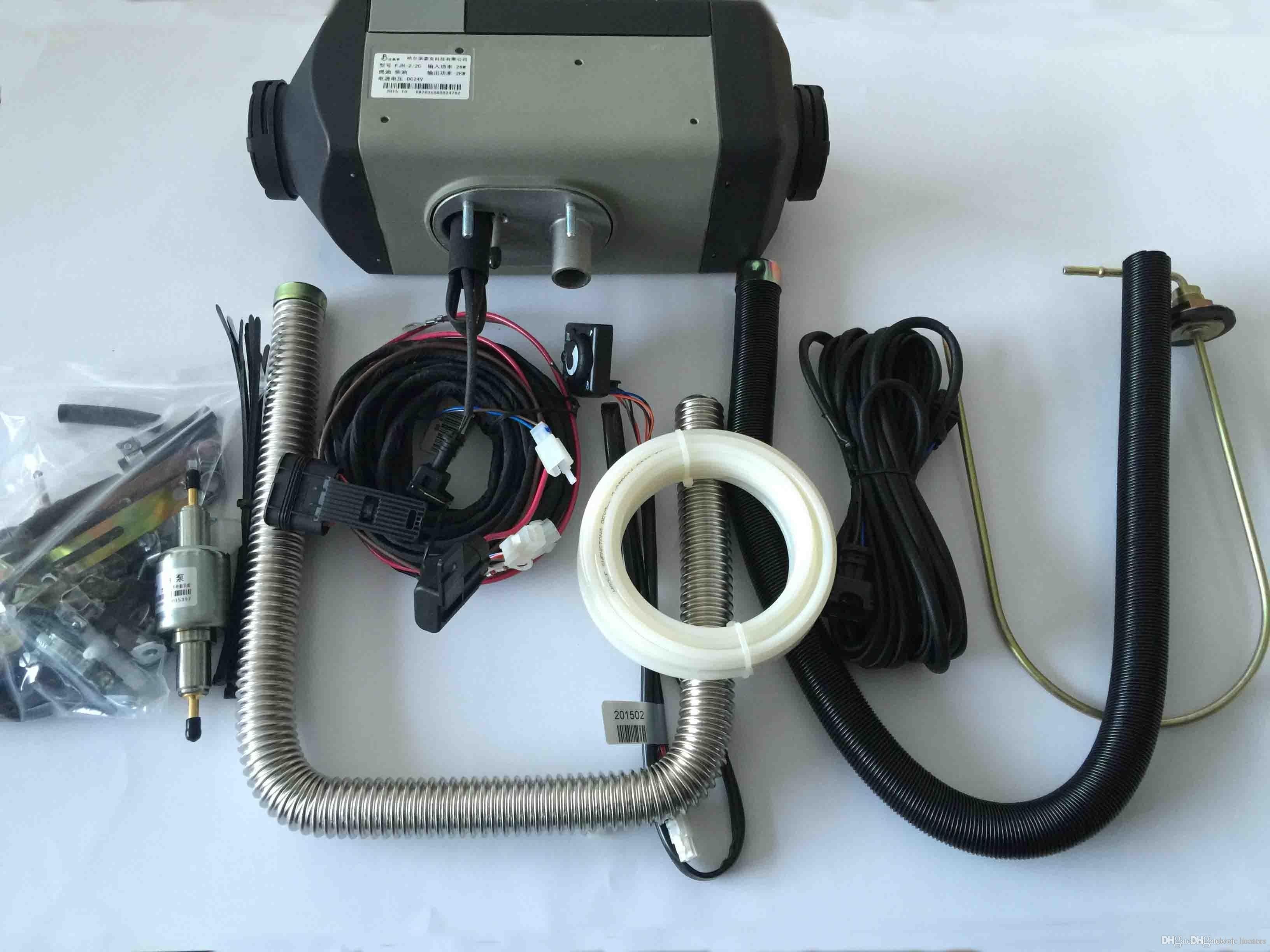 Car Heating System Diagram Drivworld Parking Heater 2kw 24v Diesel Air Car Boat Parking Heater