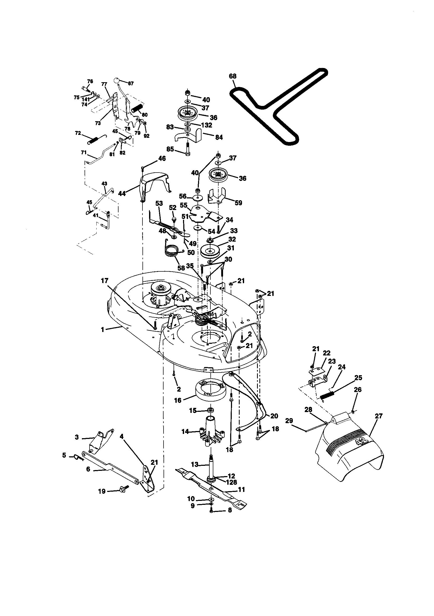 Craftsman Ltx 1000 Parts Diagram Looking for Craftsman Model Front Engine Lawn Tractor Of Craftsman Ltx 1000 Parts Diagram