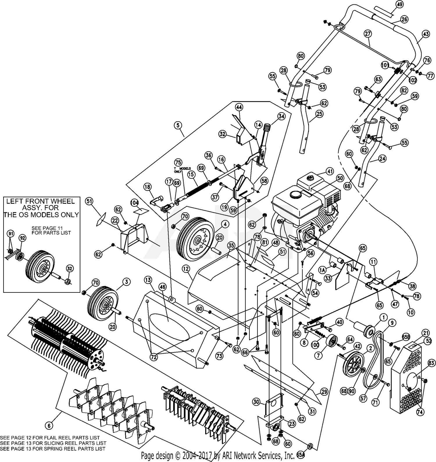 Leaf Spring Parts Diagram Billy Goat Pr550h Parts assembly Of Leaf Spring Parts Diagram
