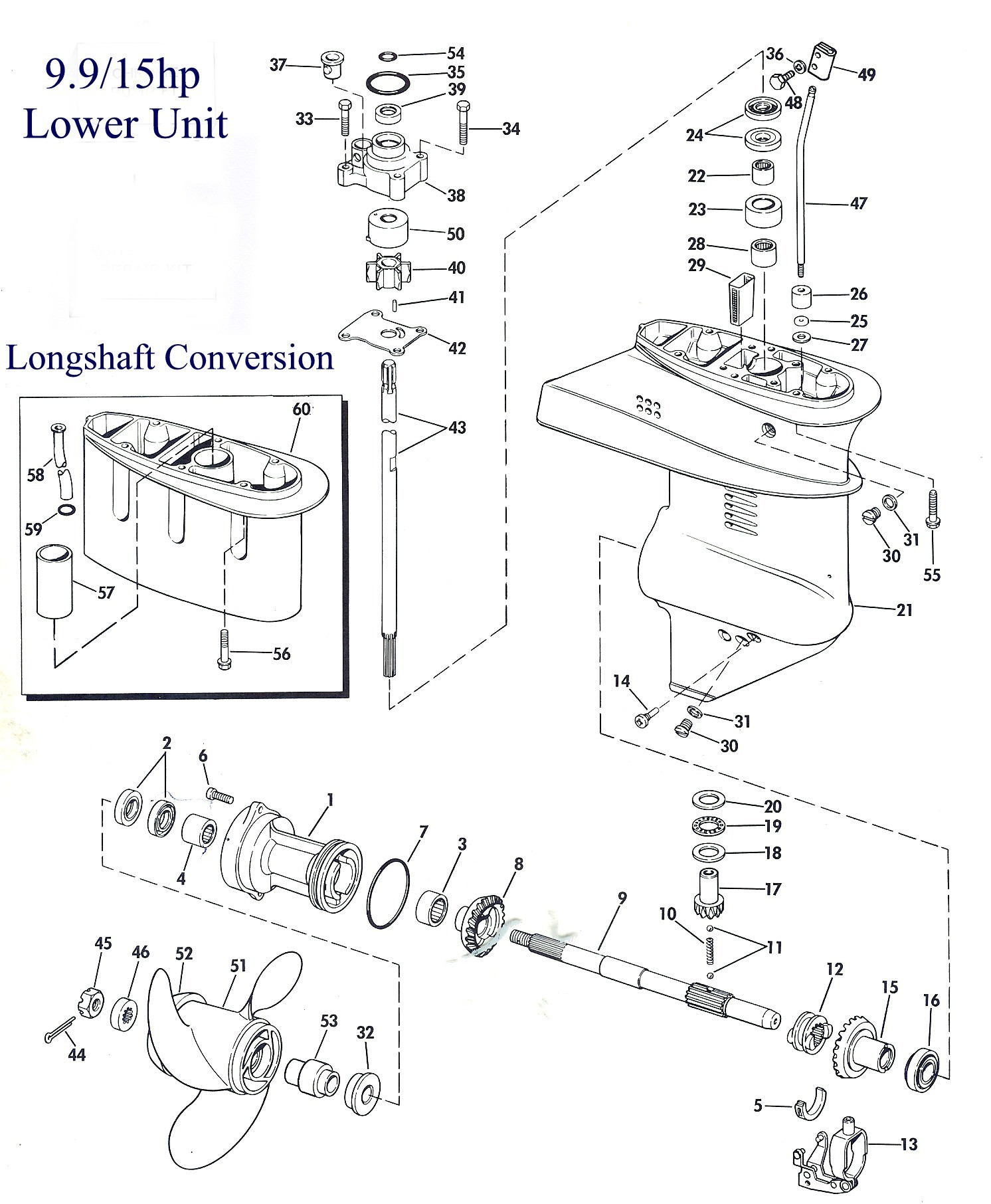 15 Hp Evinrude Parts Diagram Lower Unit Of 15 Hp Evinrude Parts Diagram